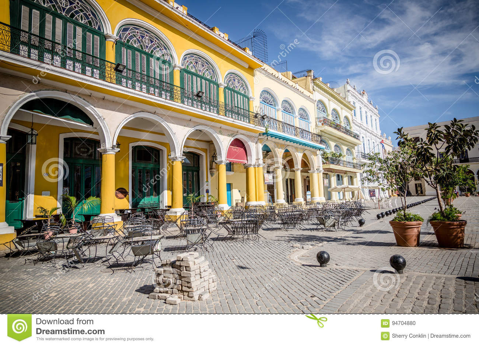 Historisk fyrkant i havannacigarren, Kuba