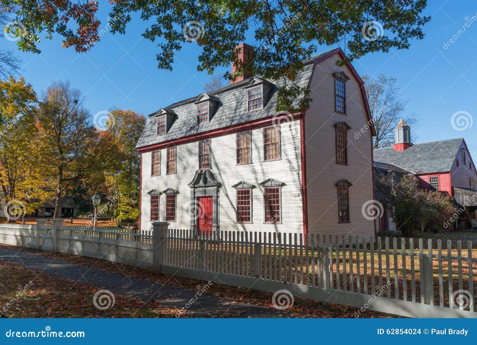 Historiskt koloniinvånarehem
