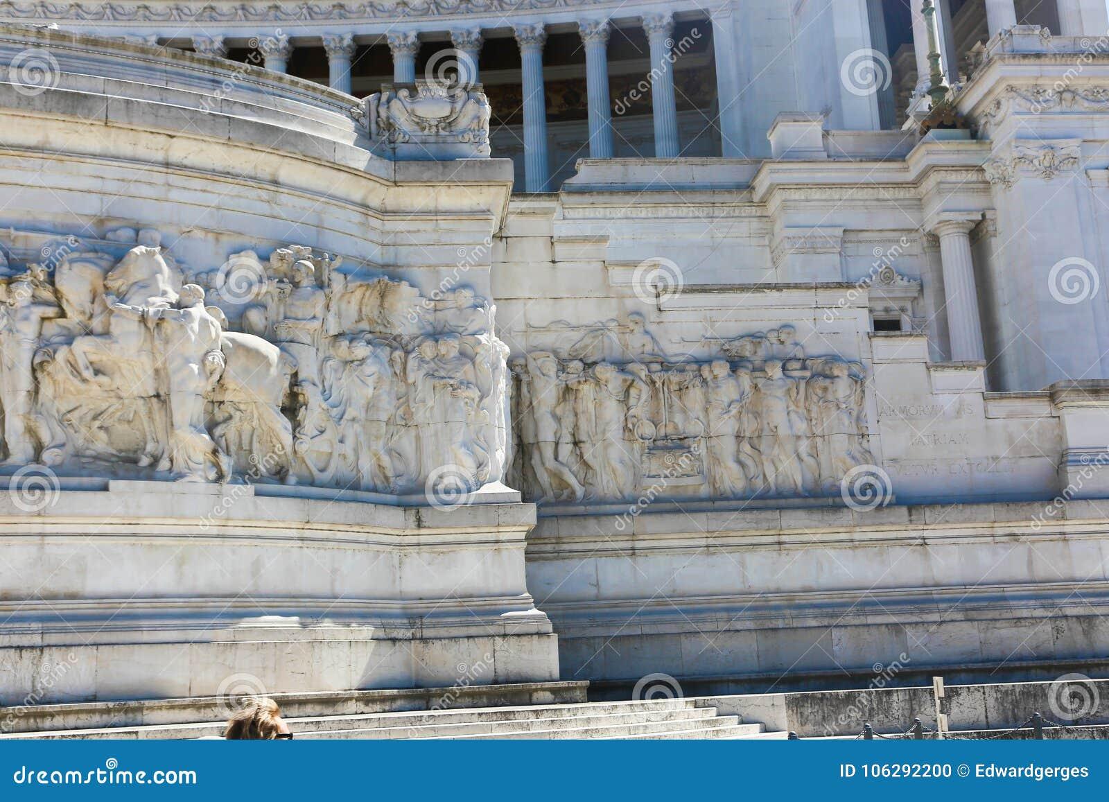 Historiskt ställe på Rome