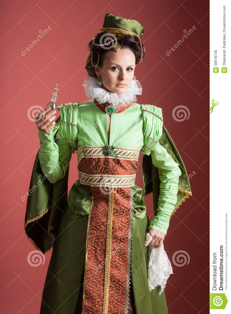 History of fashion design 16th century stock photo for History of fashion designers