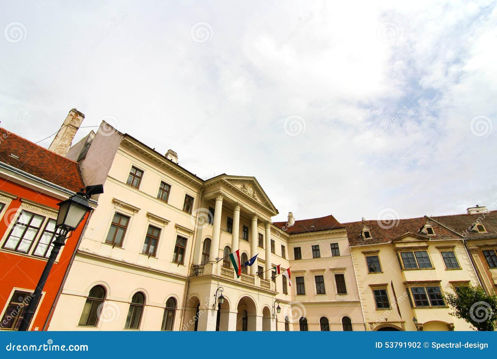 Historyczna architektura w Sopron