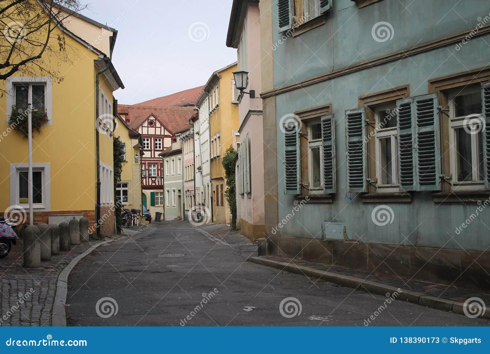 Historyczna Bamberg ulica