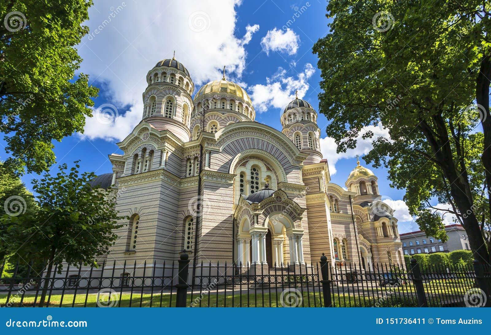 Historyczni budynki w Stary Ryskim