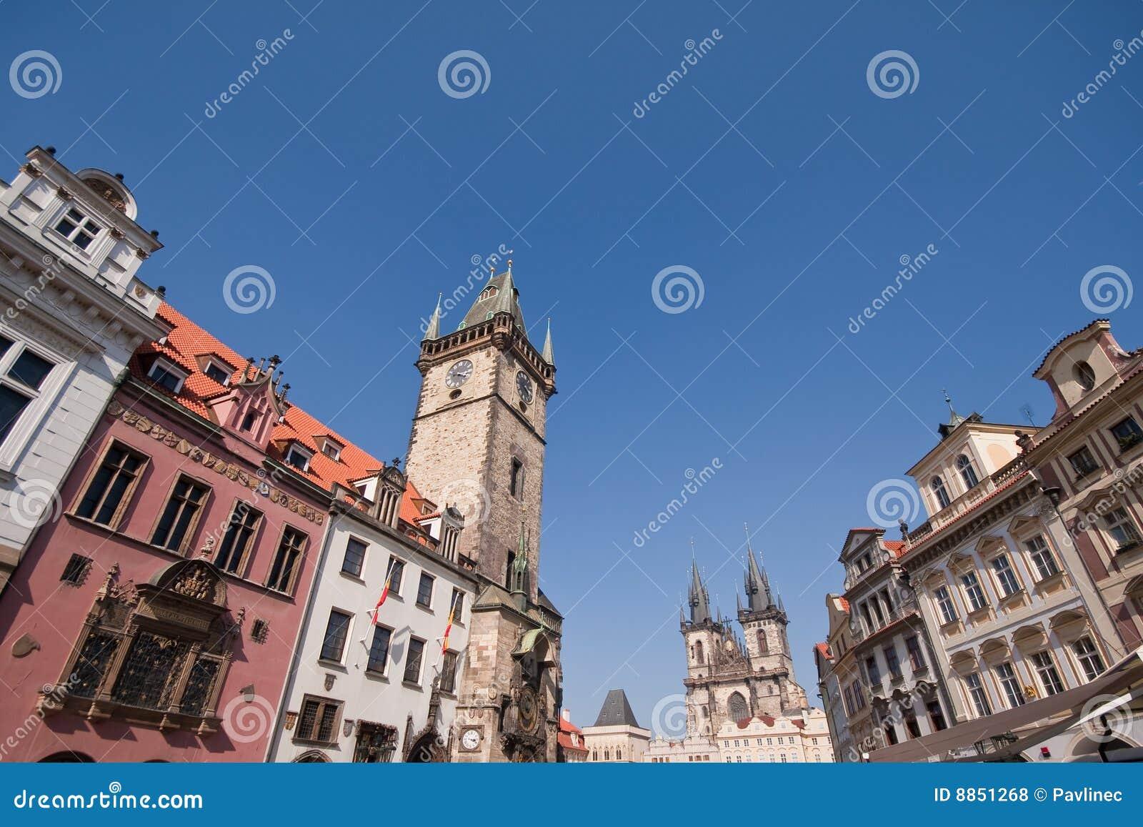 Historyczny architektury prag