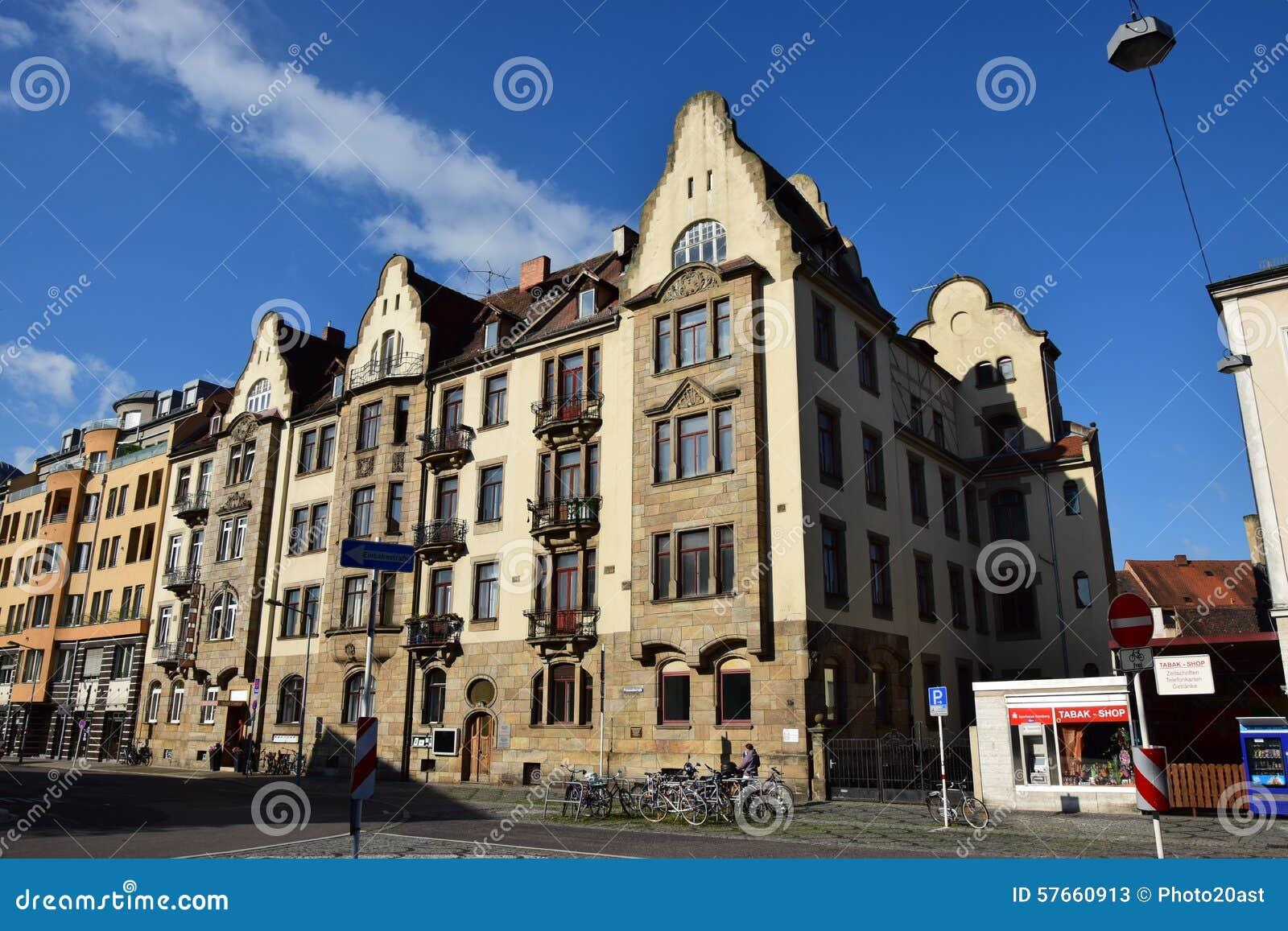 Historyczny budynek w Bamberg, Niemcy