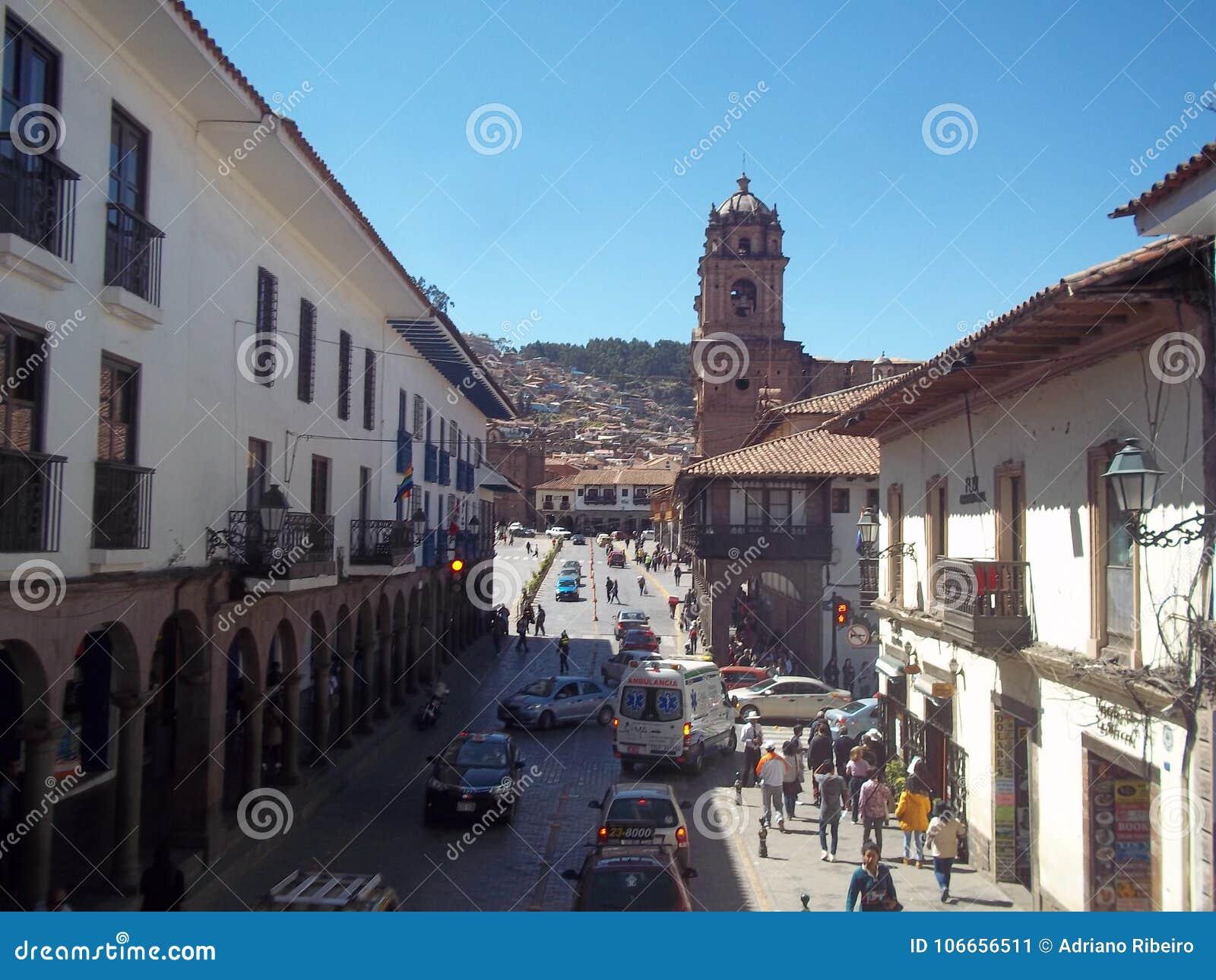 Historyczny miasto Cuzco