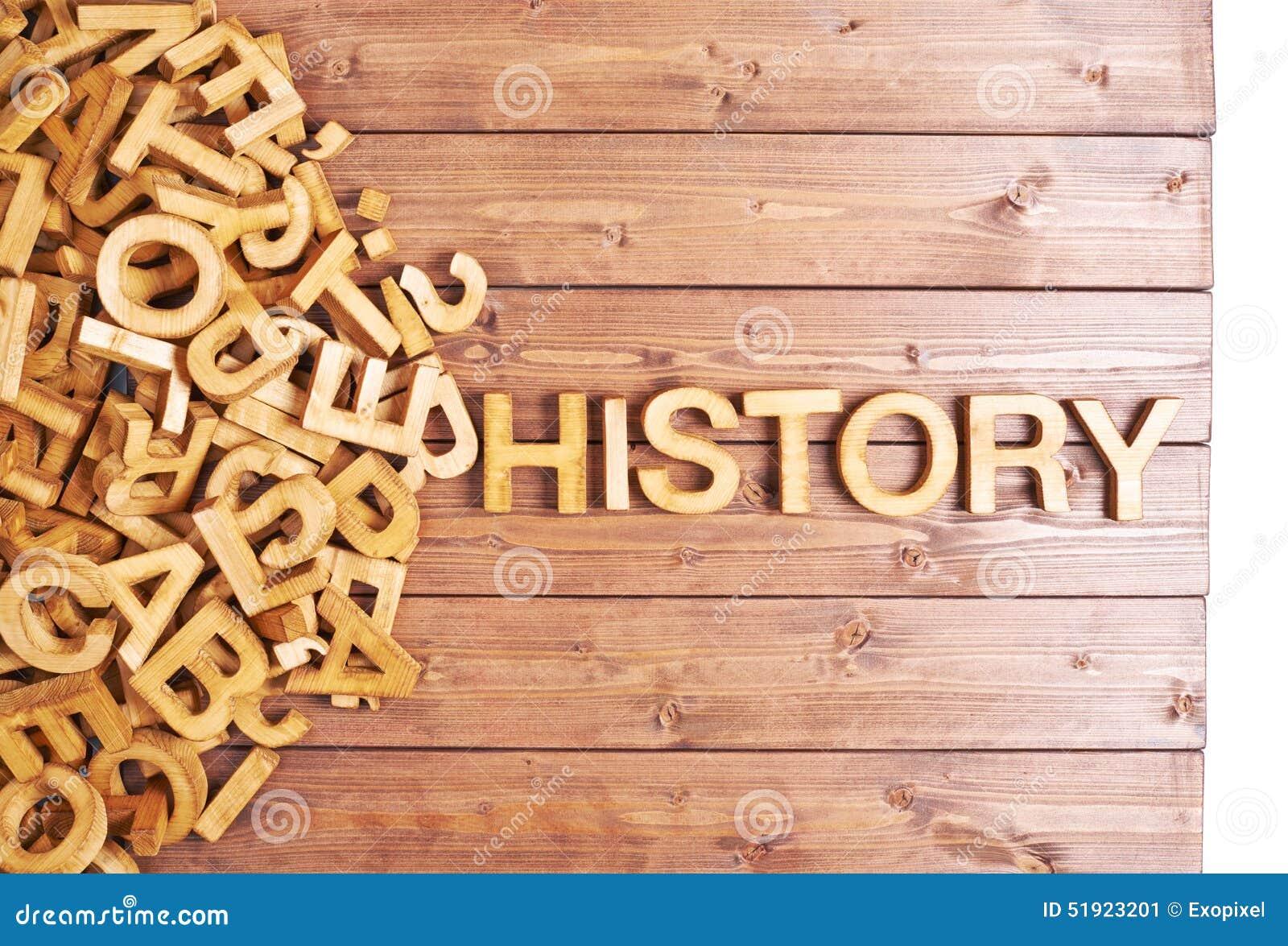 Origem Artesanato Brasil ~ História Da Palavra Feita Com Letras De Madeira Foto de Stock Imagem 51923201