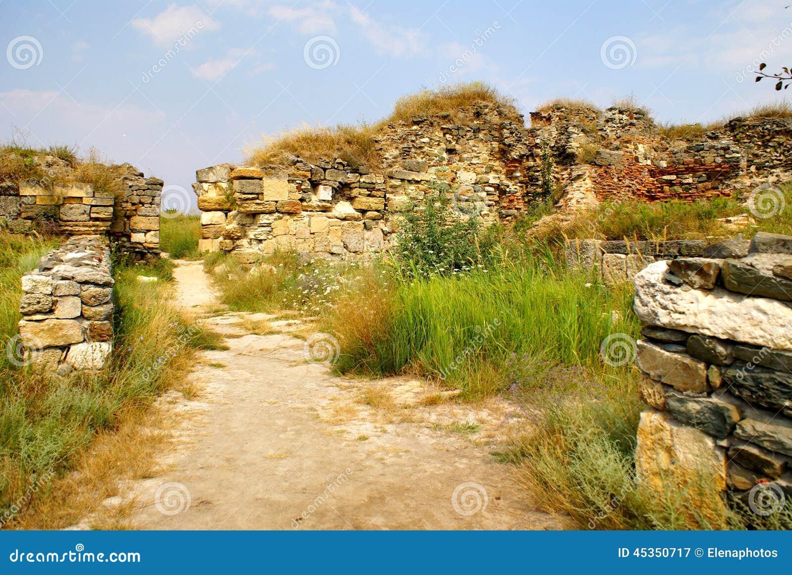 Histria, ville antique en Roumanie