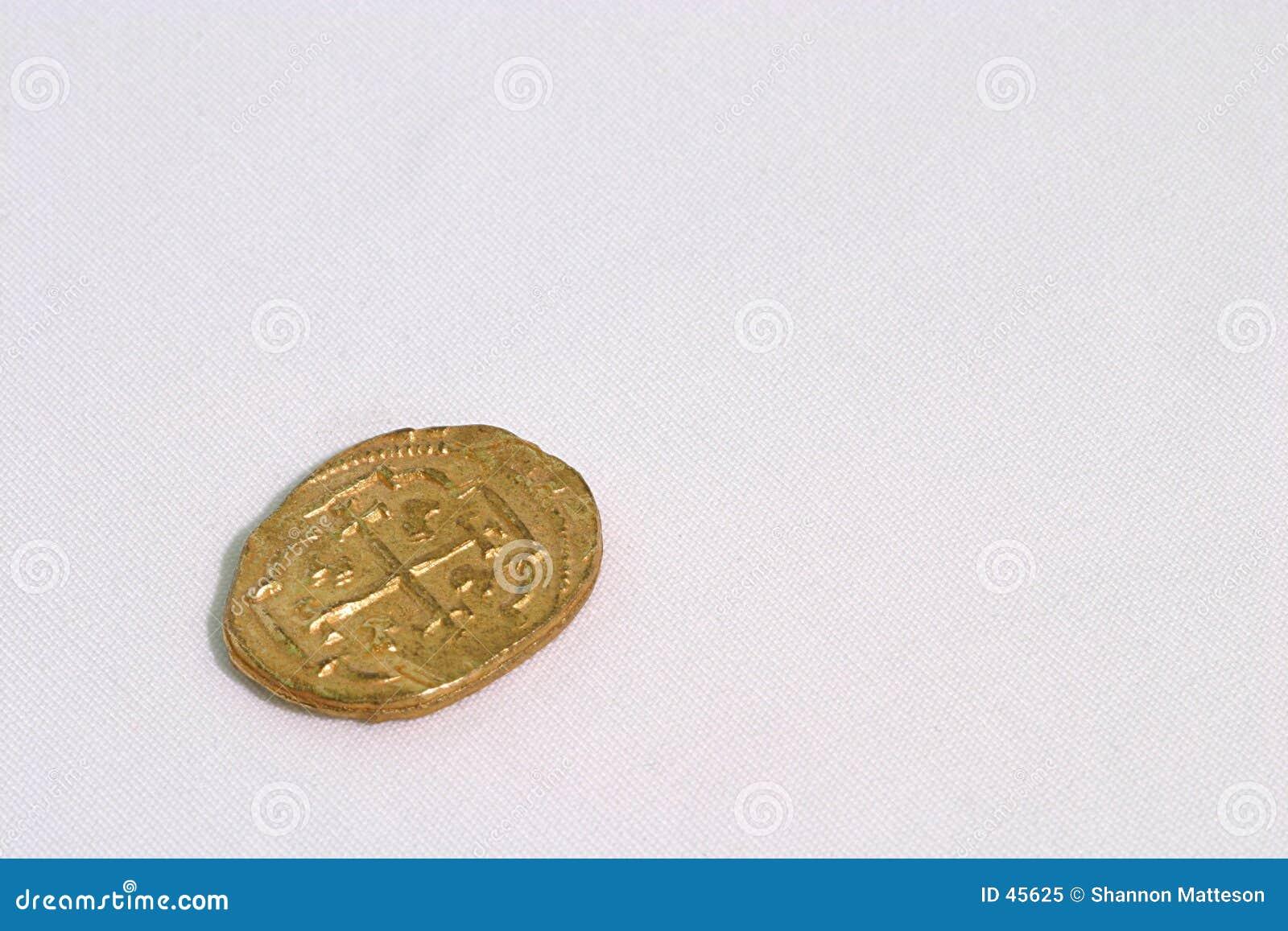 Hiszpański dublon złoto