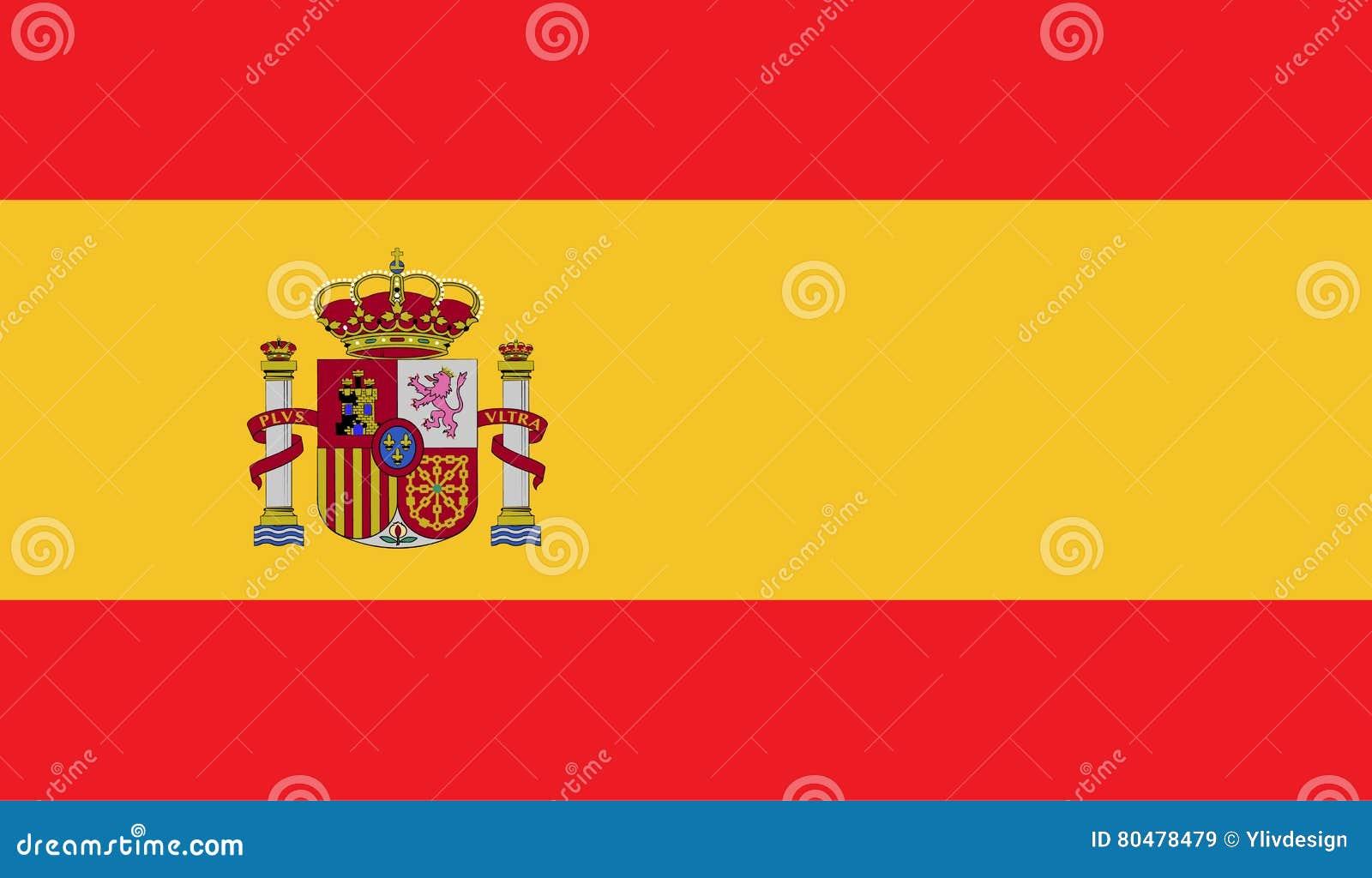 Hiszpania flaga wizerunek