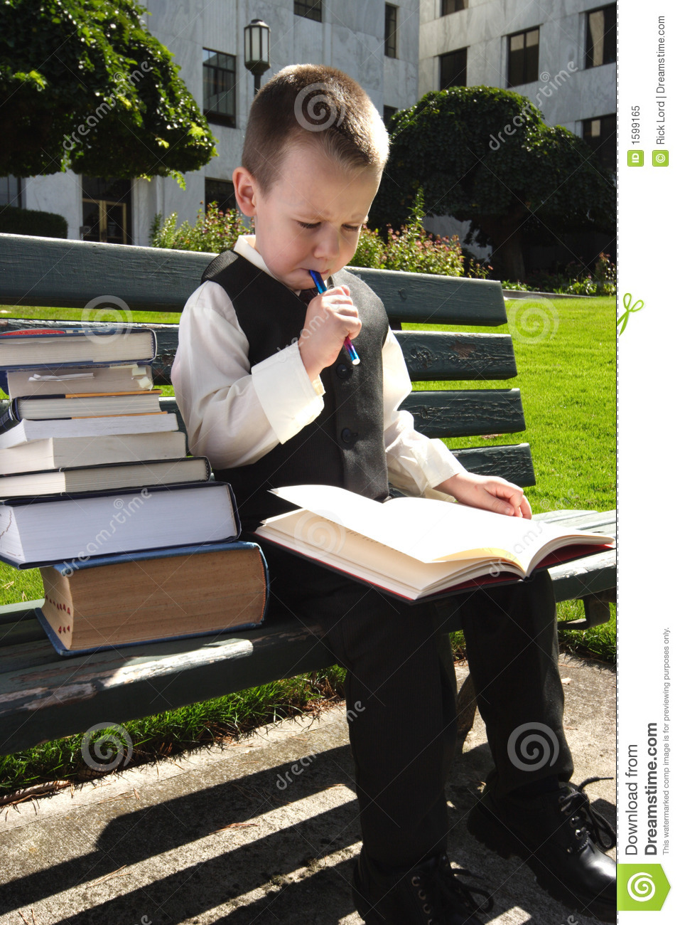 Hit The Books Royalty Free Stock Photo Image 1599165