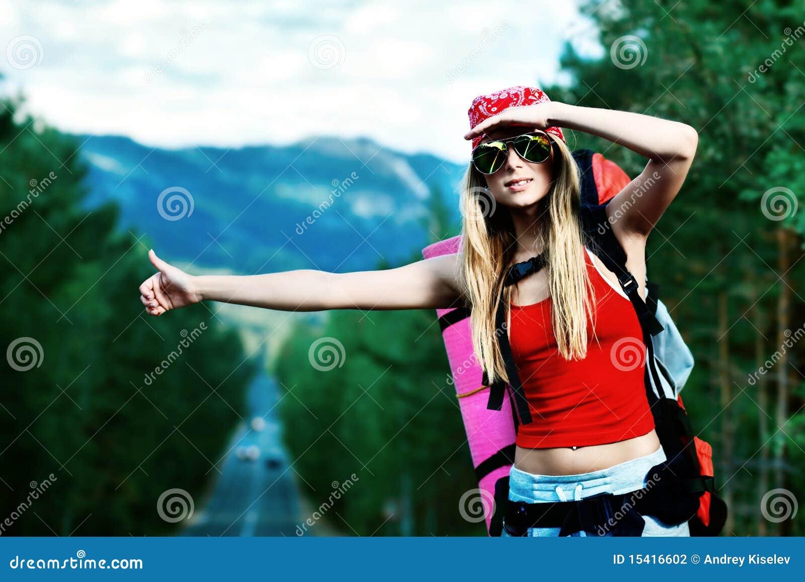 Фото девушек туристки