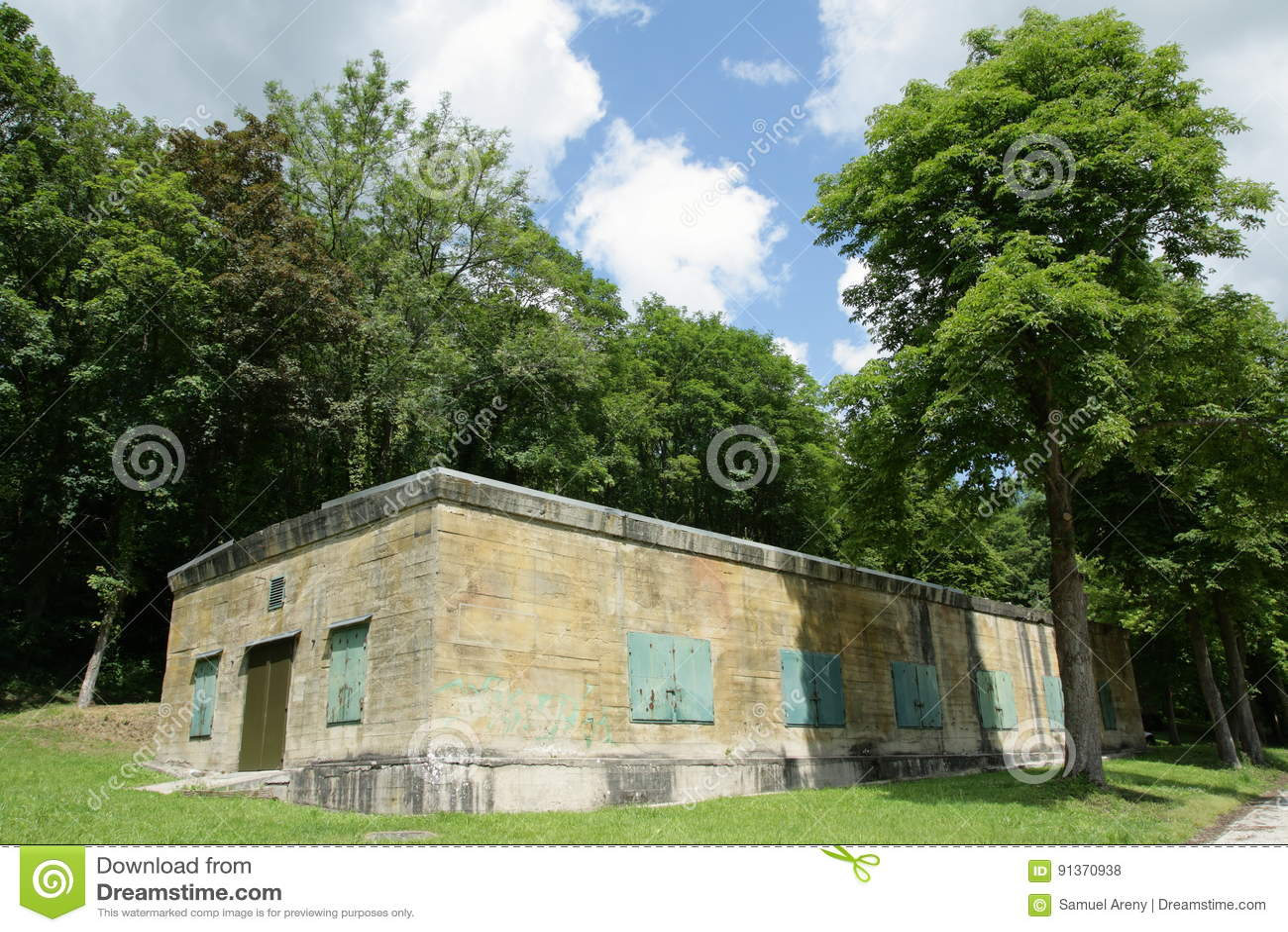 Hitler bunkier w Margival, Aisne, Picardie w północy Francja