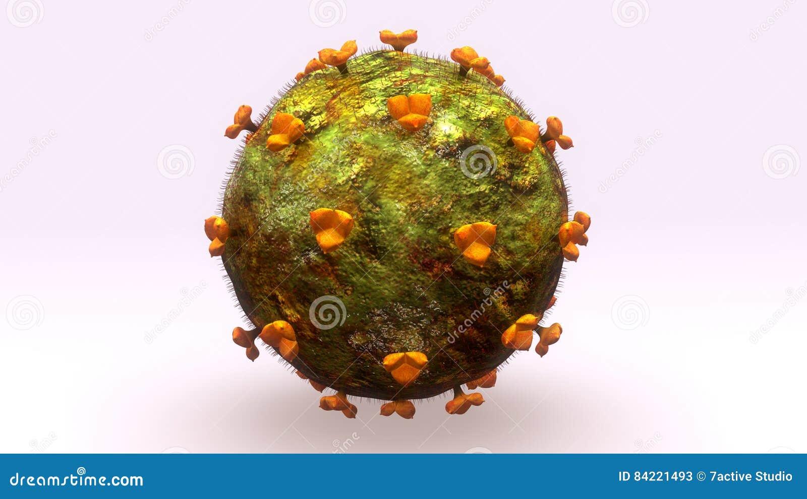 HIV Virus stock illustration. Illustration of microscopic - 84221493