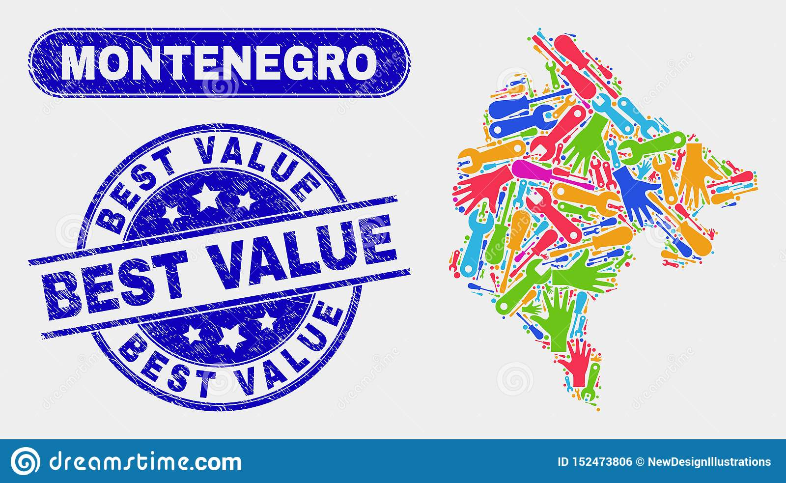 HjälpmedelMontenegro översikt och skrapade bästa värdevattenstämplar