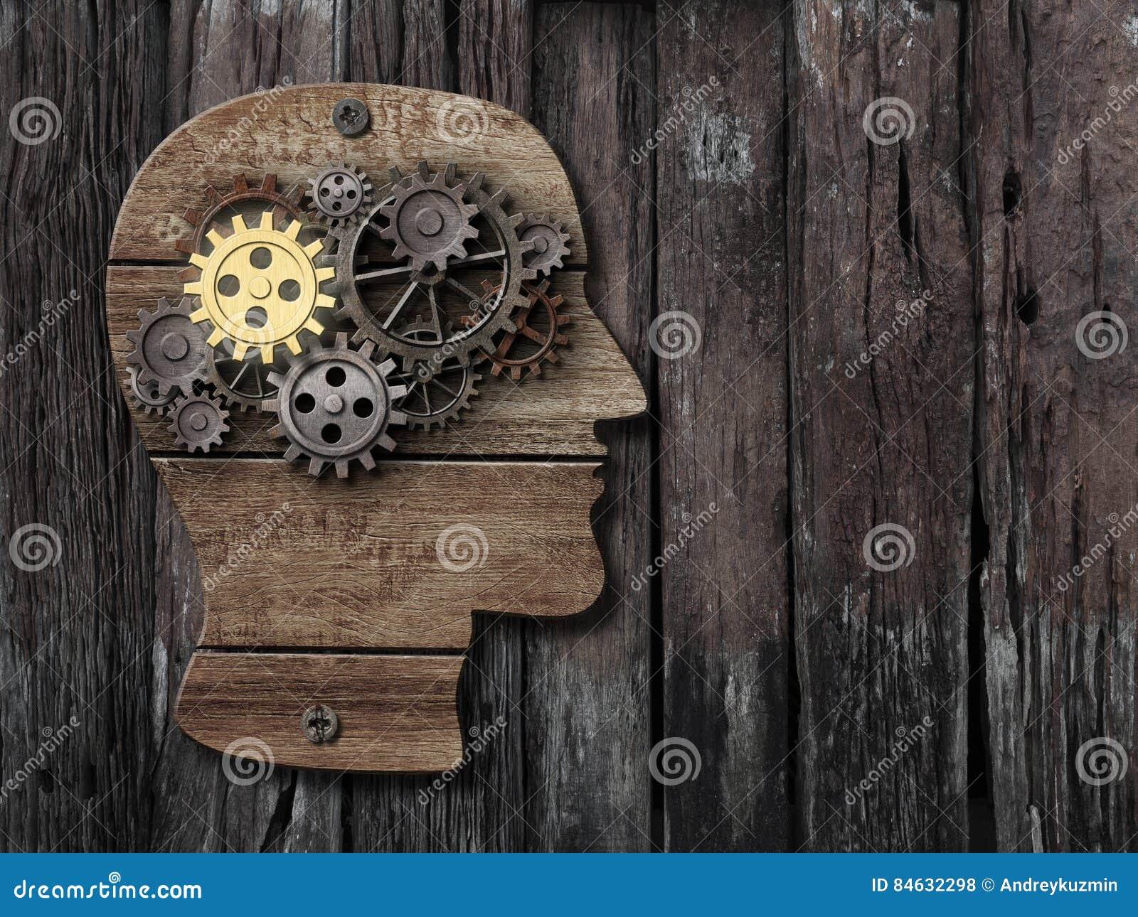 Hjärnaktivitet, psykologi, minnesbegrepp