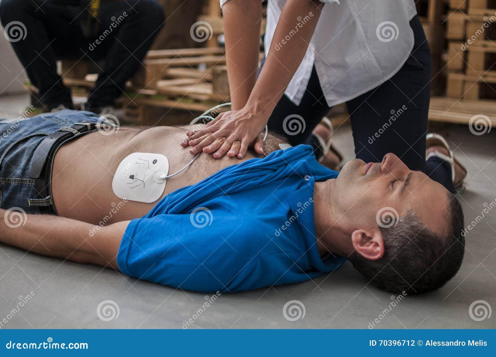 Hjärt- massage