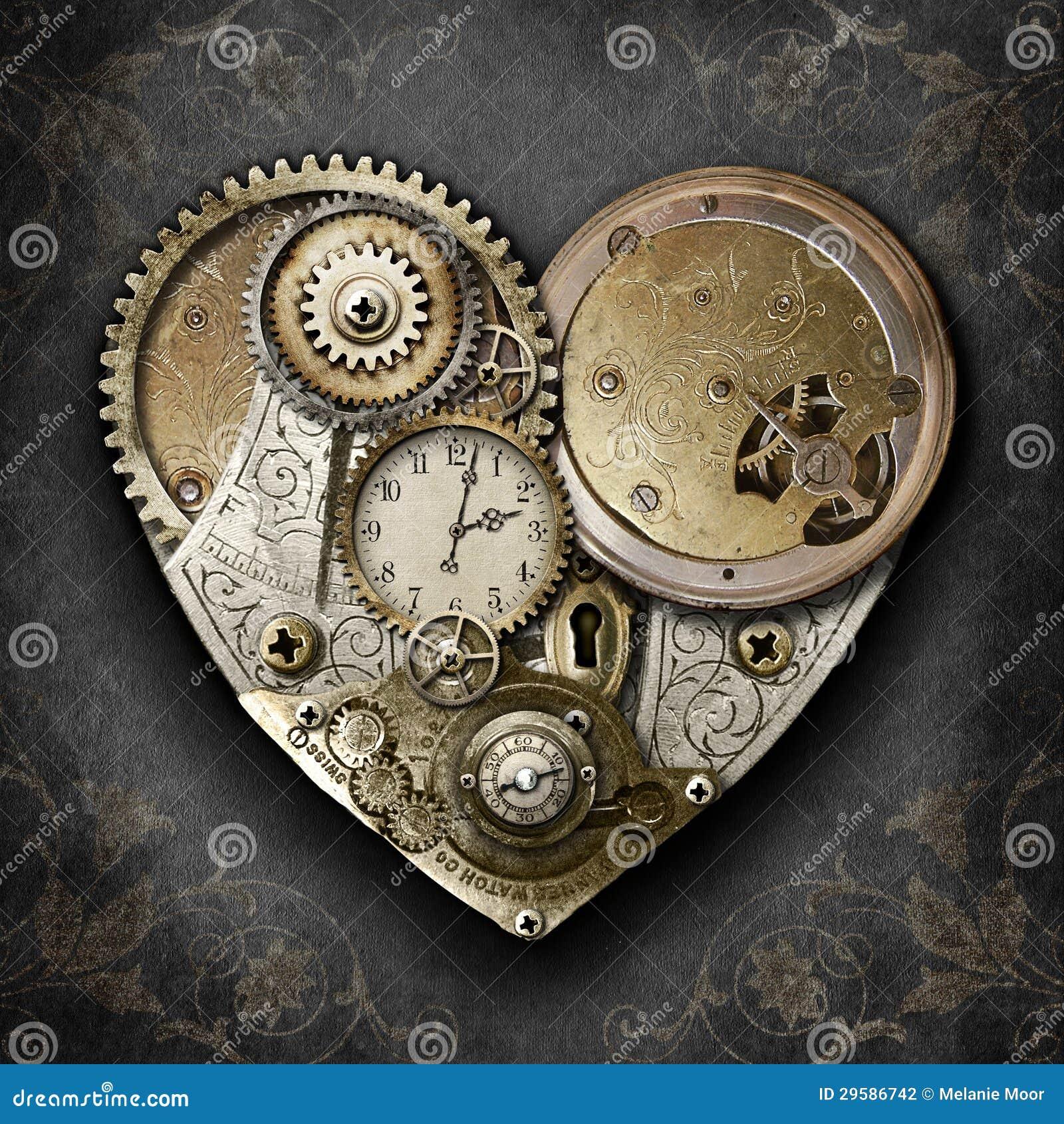 Hjärta av Steampunk