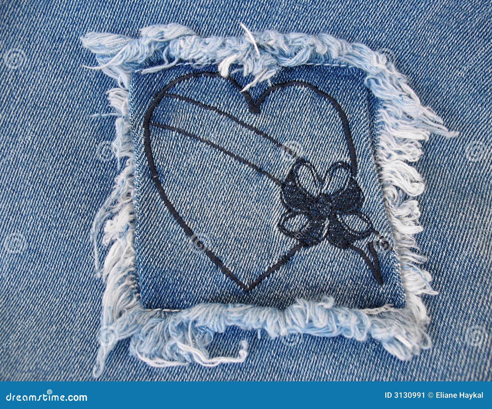 Hjärta för denim 2
