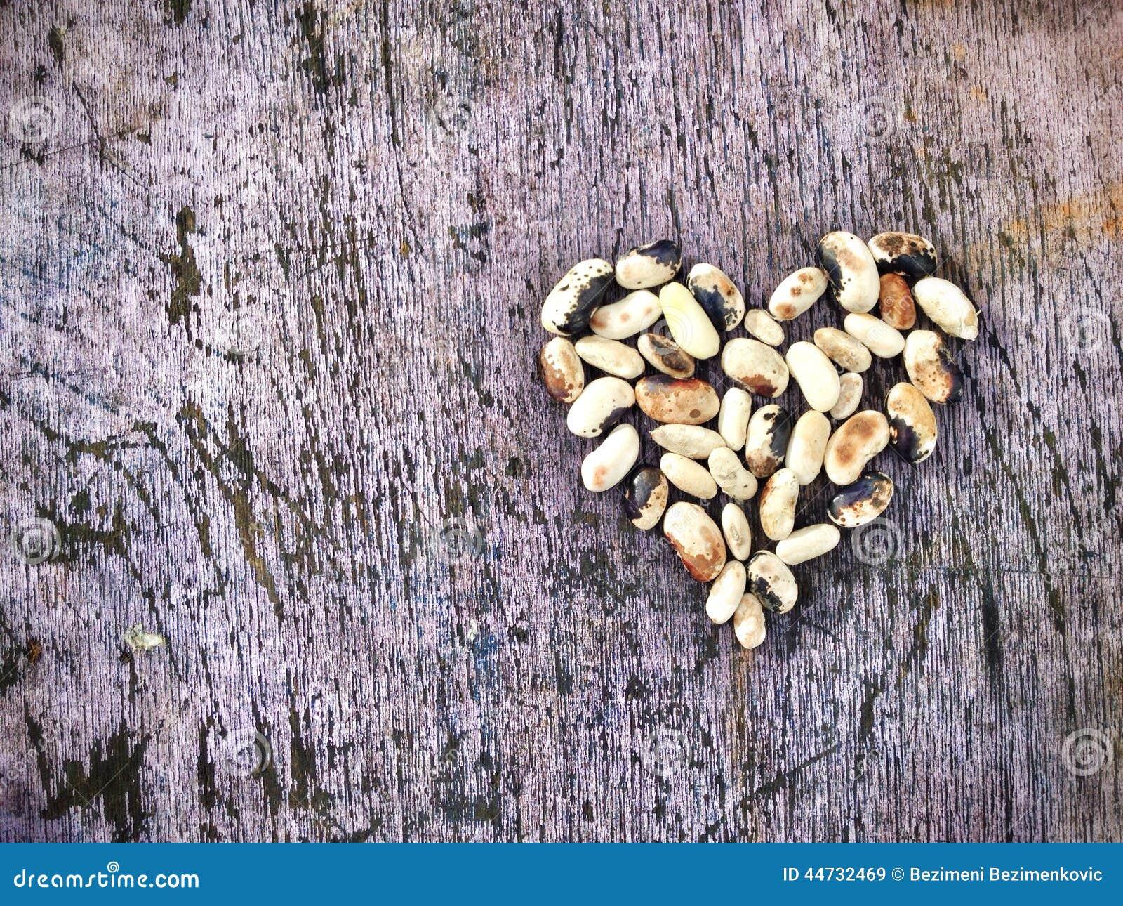 Hjärta från bönor