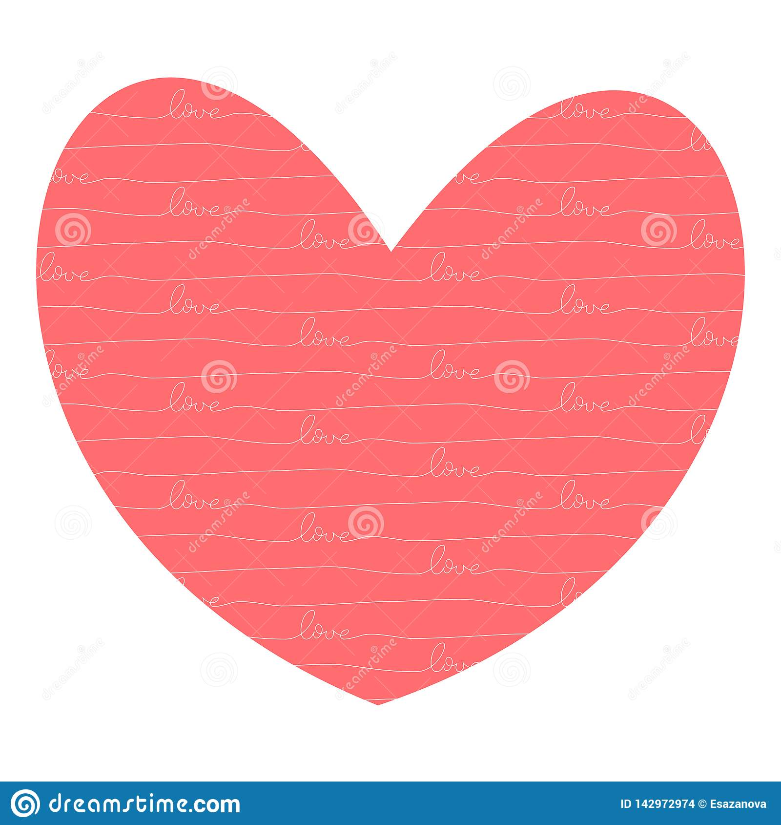 Hjärta med förälskelseinsida