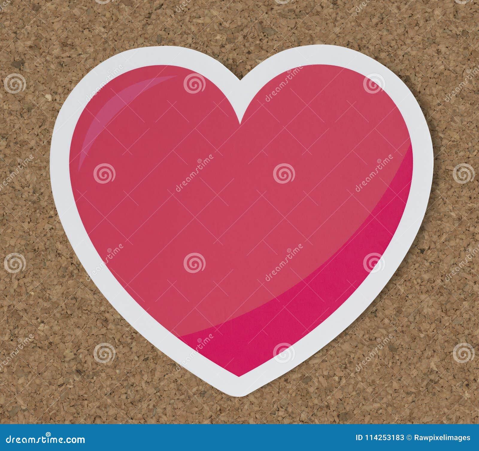 Hjärta som förälskelseromanssymbol
