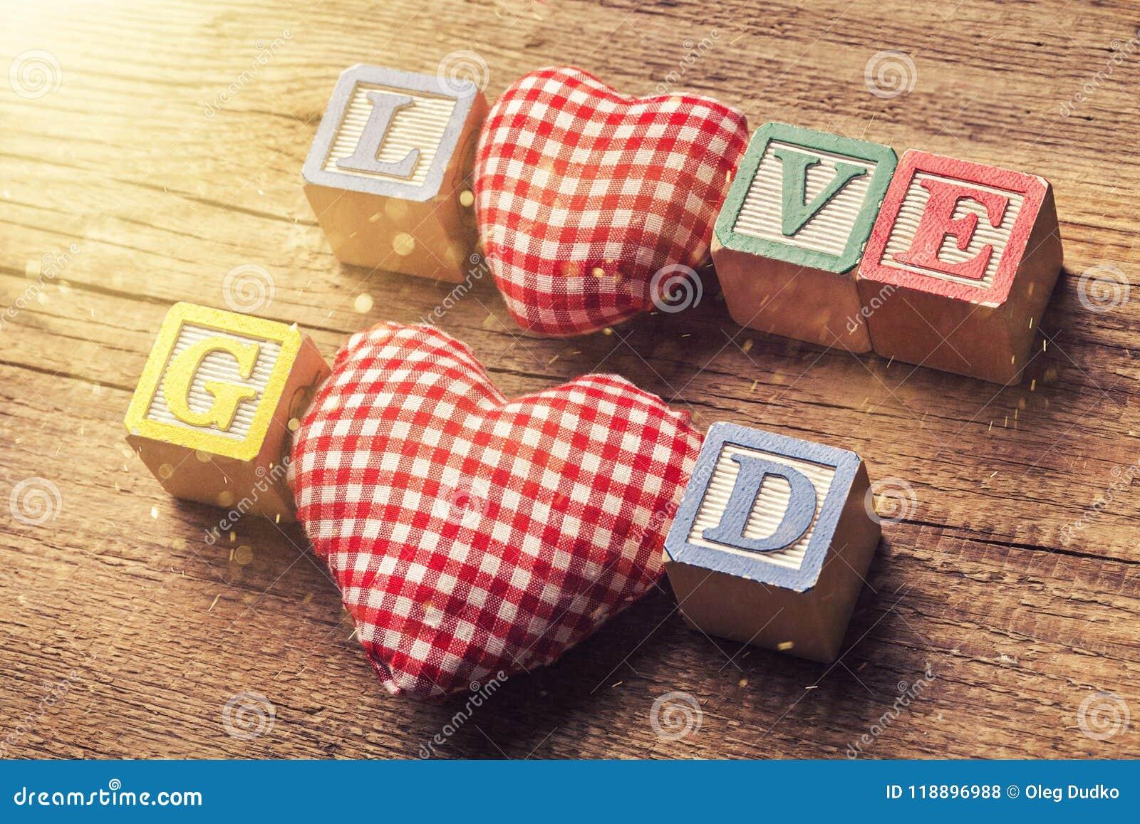 Hjärtabegreppet älskar jag guden