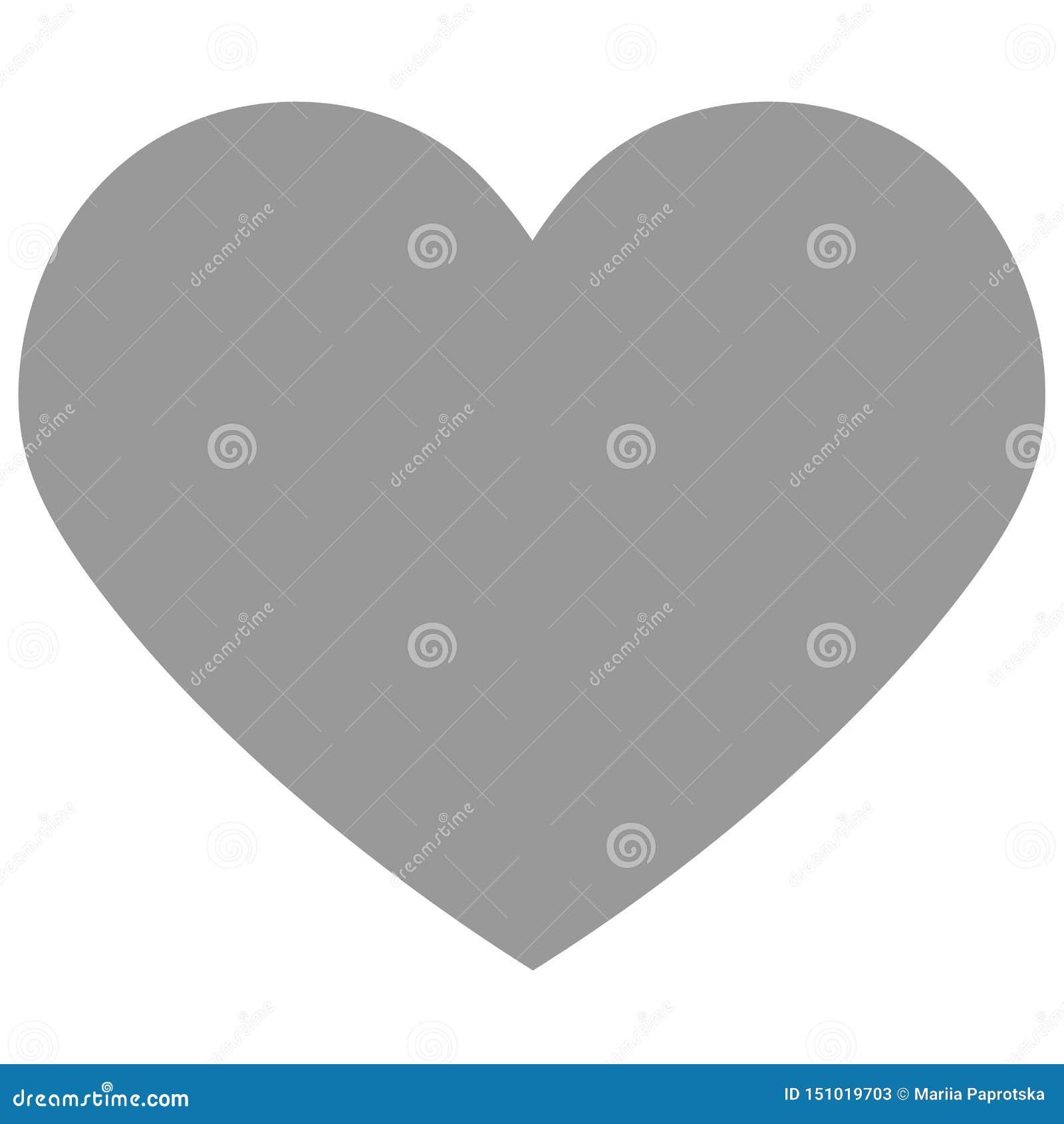 Hjärtasymbolsvektor eps 10