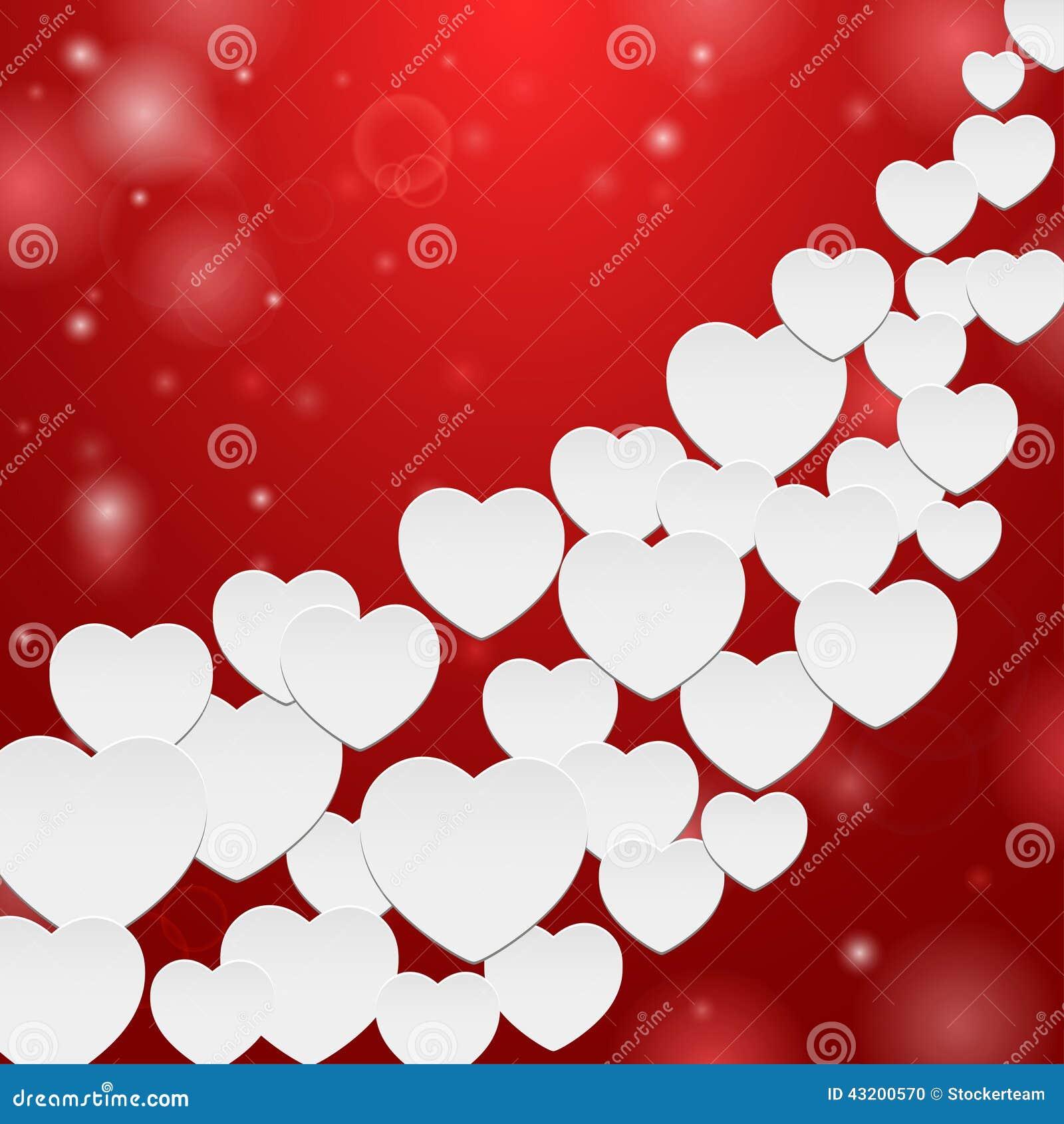 Download Hjärtor många vektor illustrationer. Illustration av räkning - 43200570