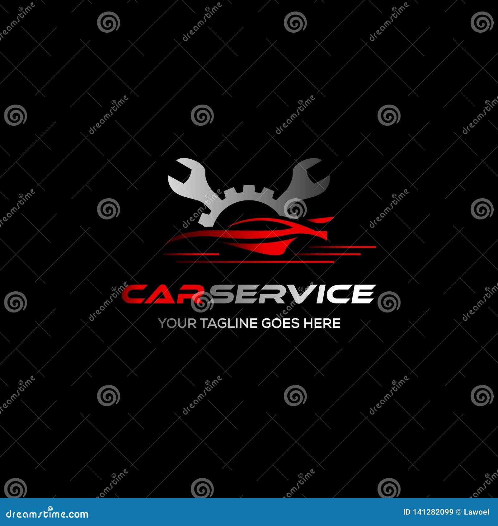 Hjulreparationsservice Tecken för gummihjullagringsföretag gummihjullogo Hjulsymbol Bilreparationsservice, automatisk, brännande