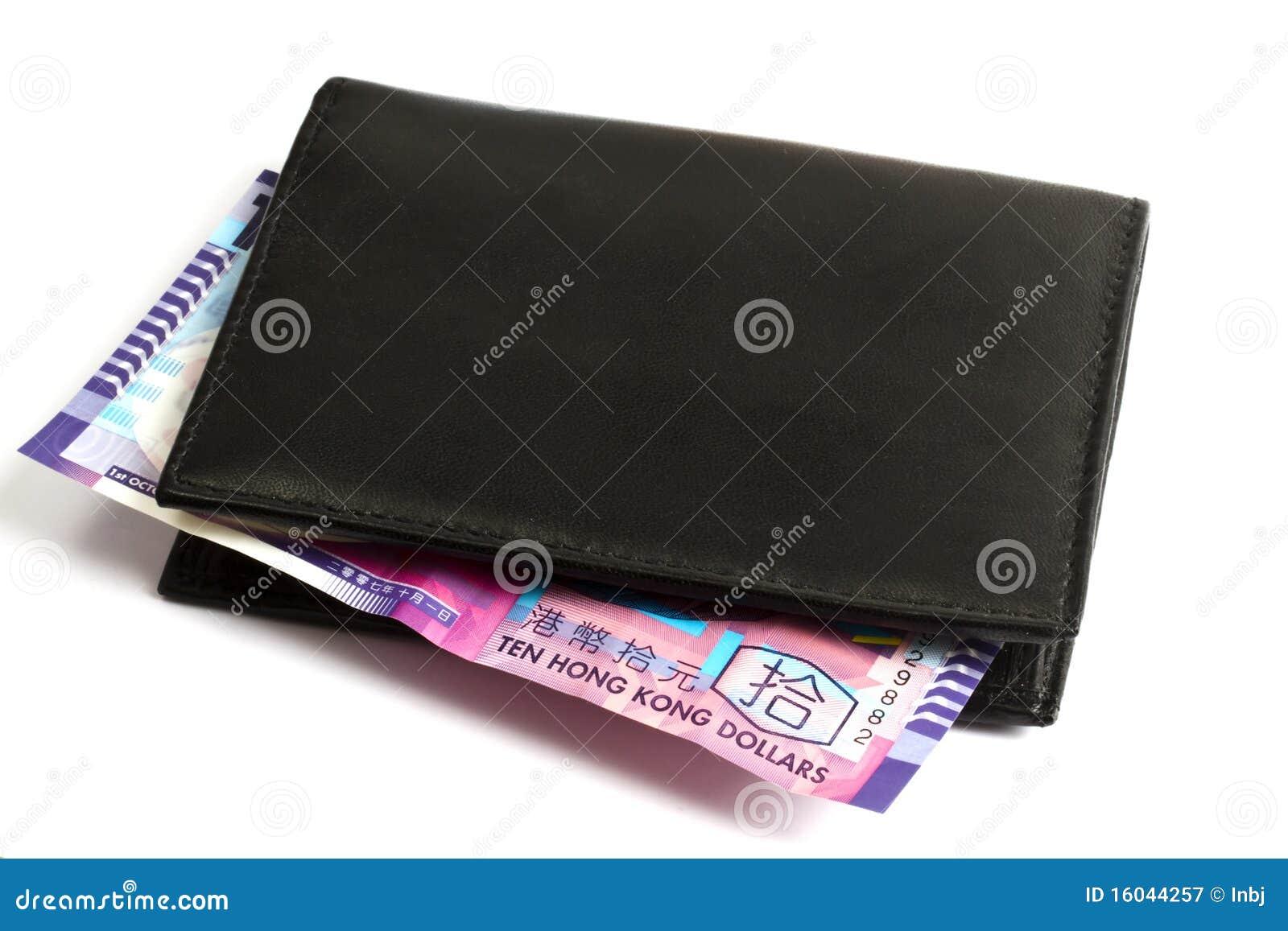 Hk portfli czarny dolary dziesięć