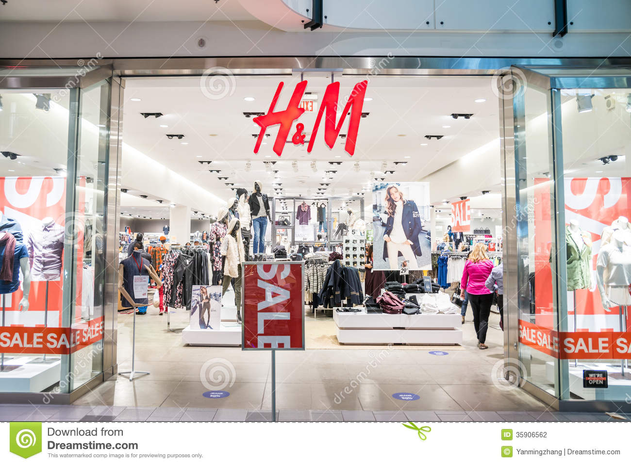H & M Offering fashion and quality at the best price, H&M offers a varied assortment for the entire family, including concepts for ladies, men, teenagers and children. We currently have over stores in .