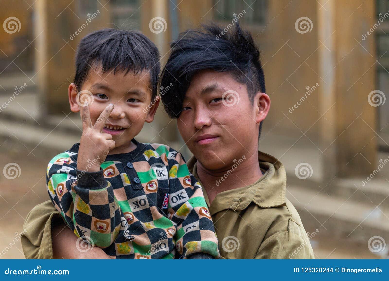 Hmong etnhic mniejszość Wietnam
