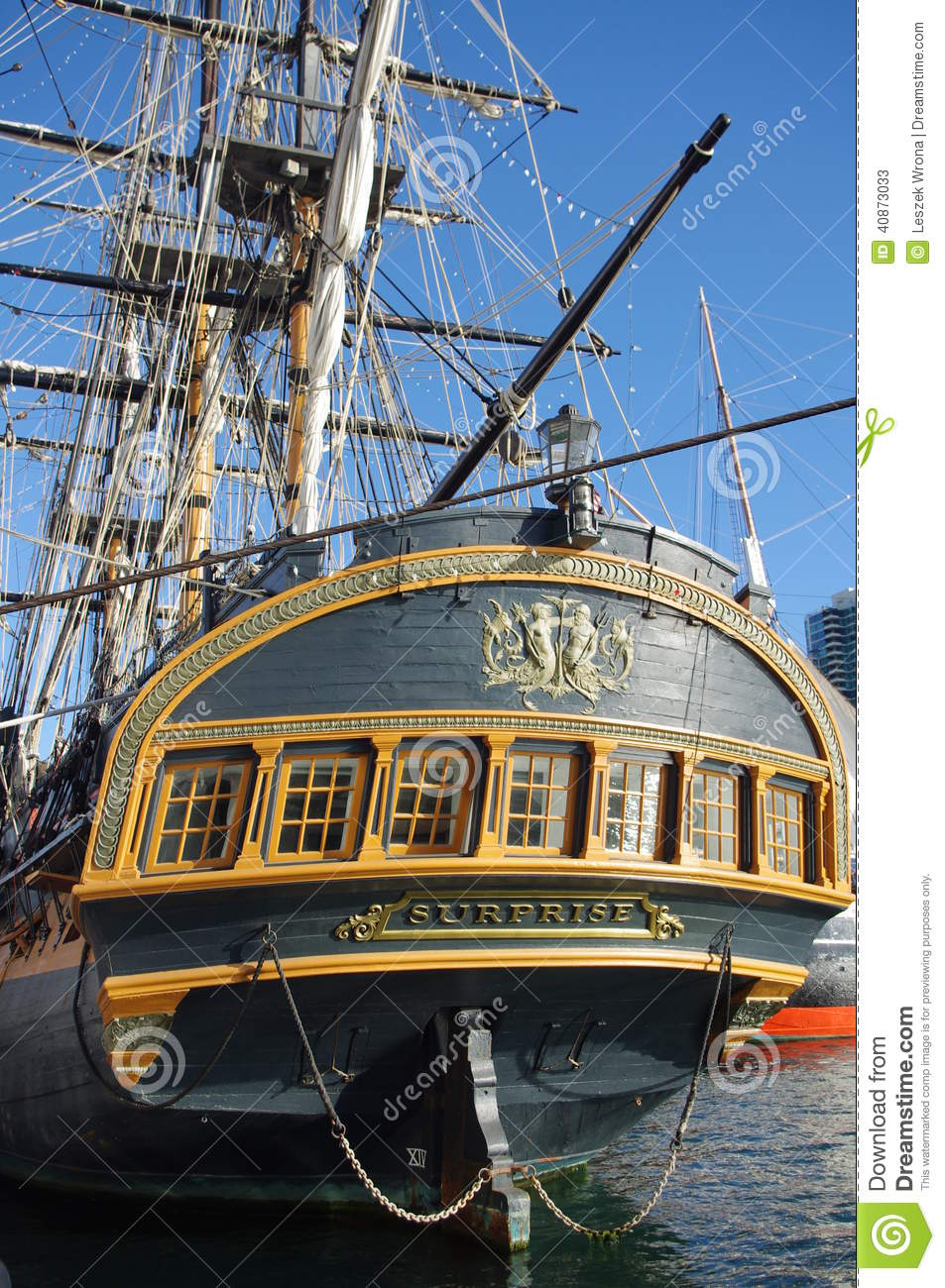 Hms Surprise In San Diego Editorial Stock Photo Image