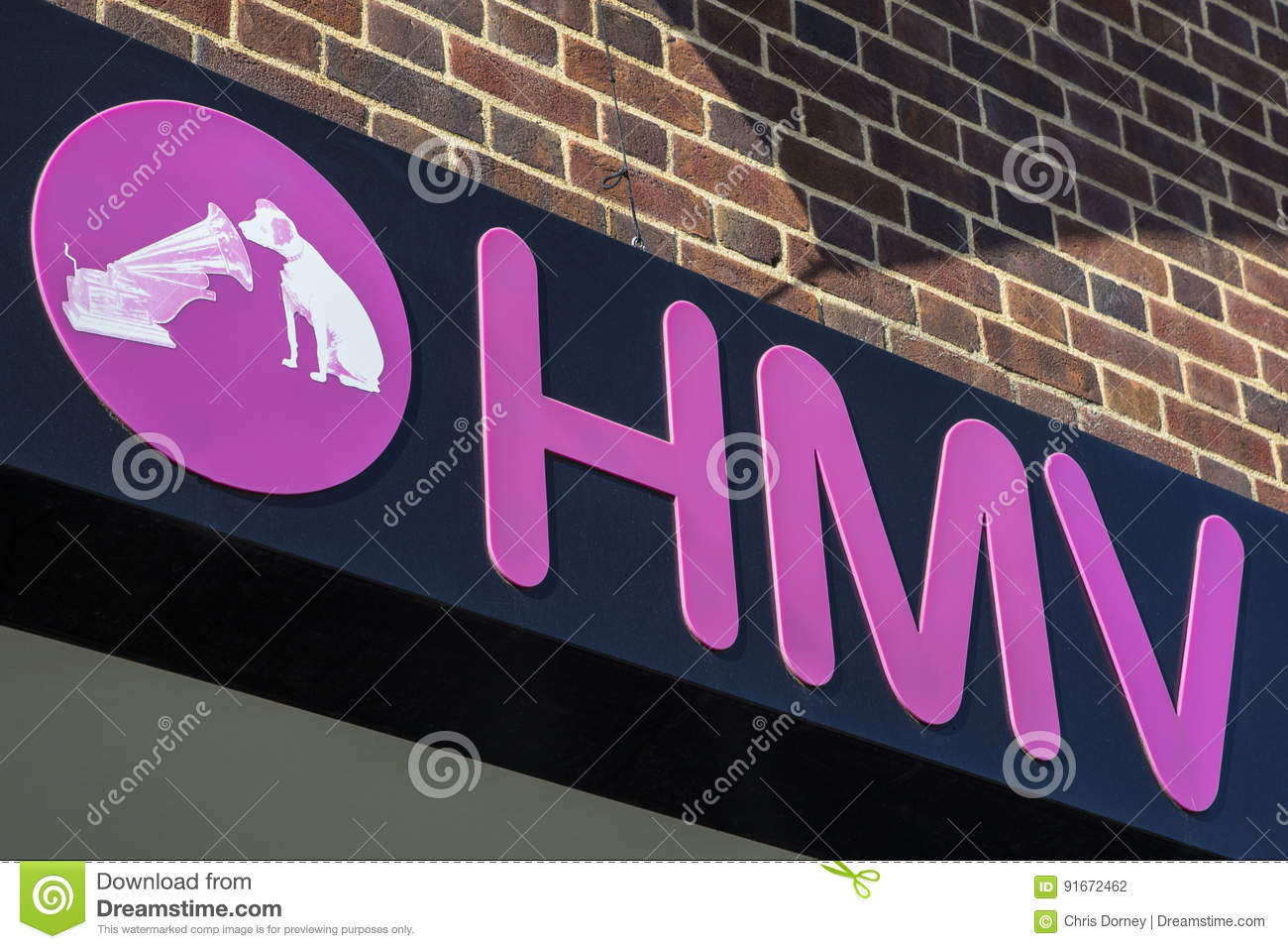 Hmv Store In The Uk Editorial Photography Image Of Chichester