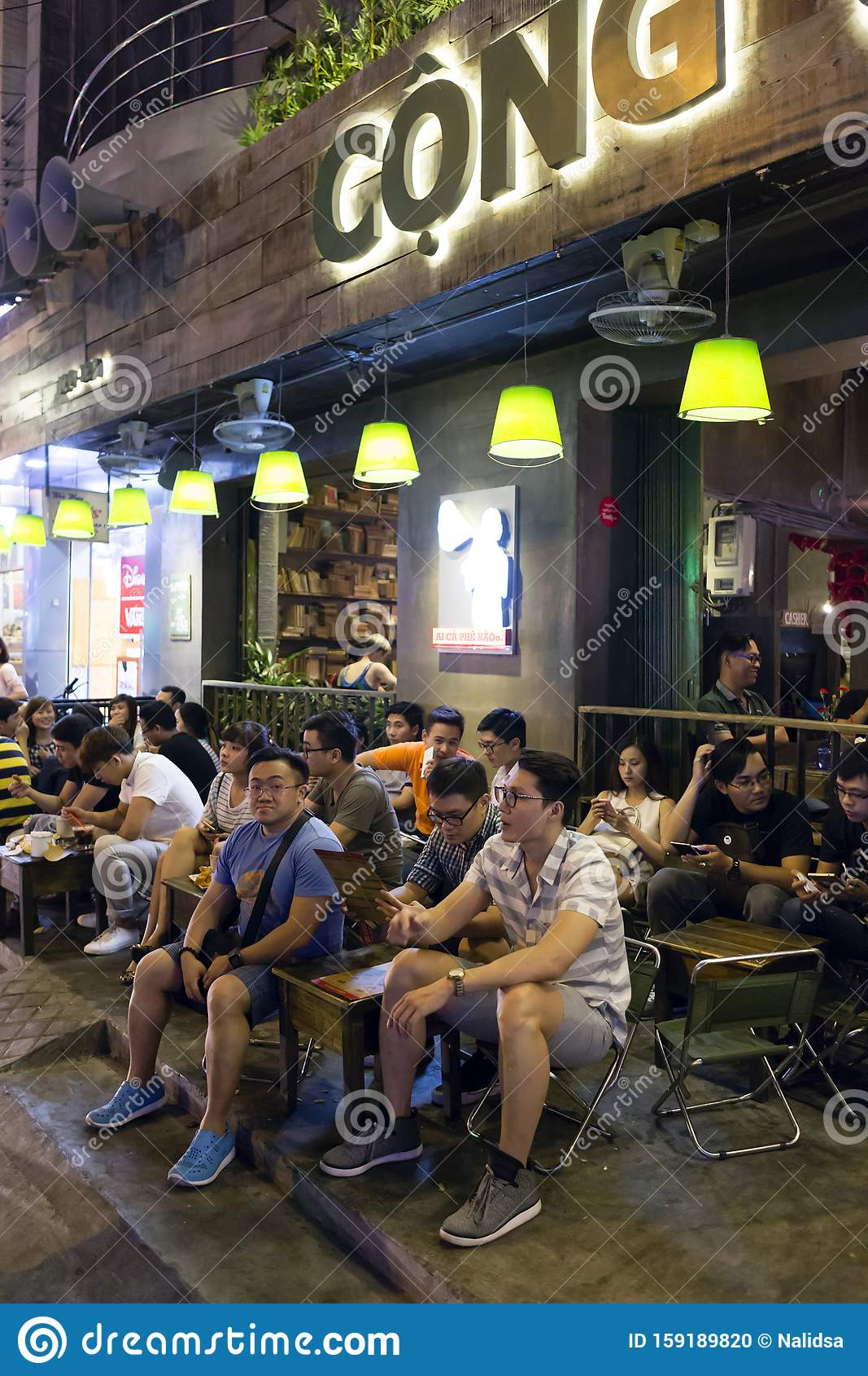 Ho Chi Minh City Vietnam Nightlife Editorial Image Image Of Night Clubbing 159189820