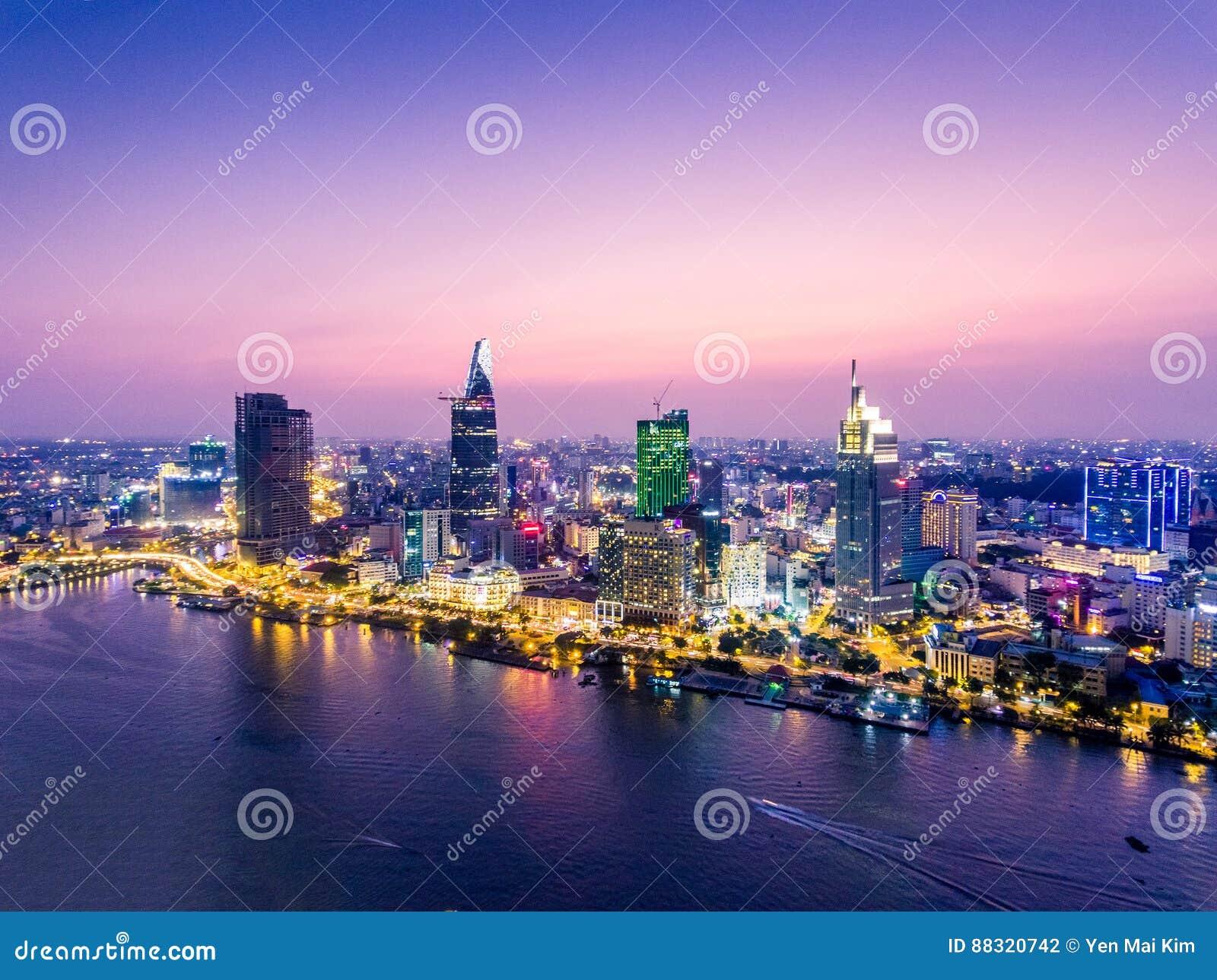 Ho Chi Minh City Vietnam Saigon