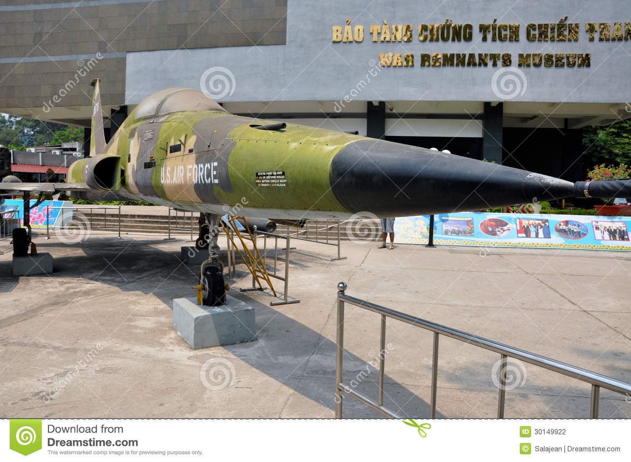 USA BLUB Bomb War Remnants Museum Ho Chi Minh Royalty Free - War museums in usa