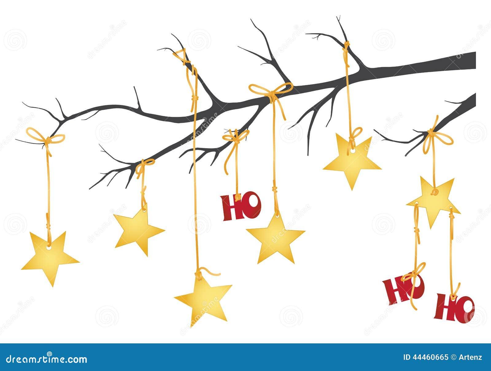 Hanging Tree Branch Decor