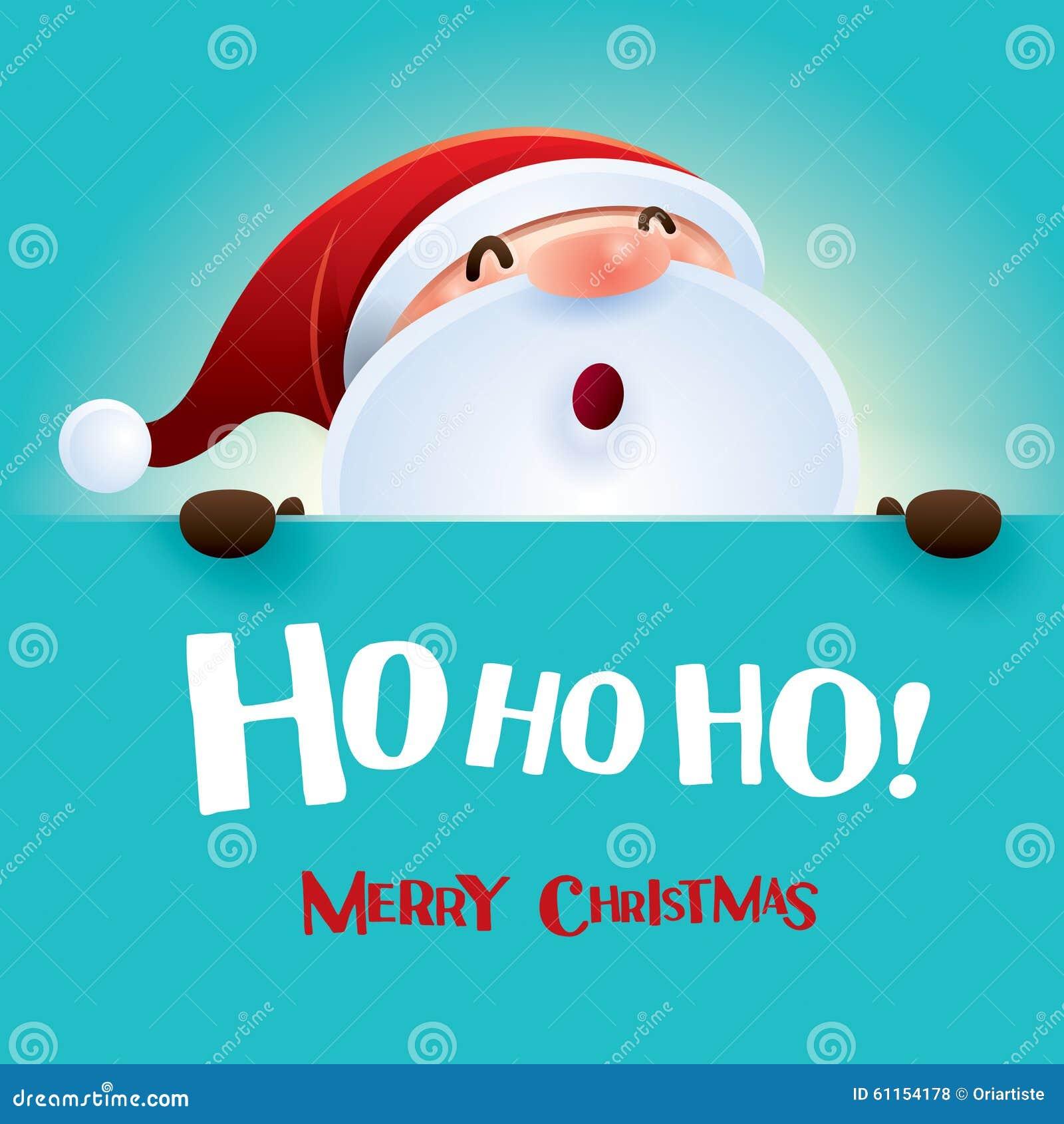 Ho Ho Ho Frohe Weihnachten.Ho Ho Ho Frohe Weihnachten Vektor Abbildung