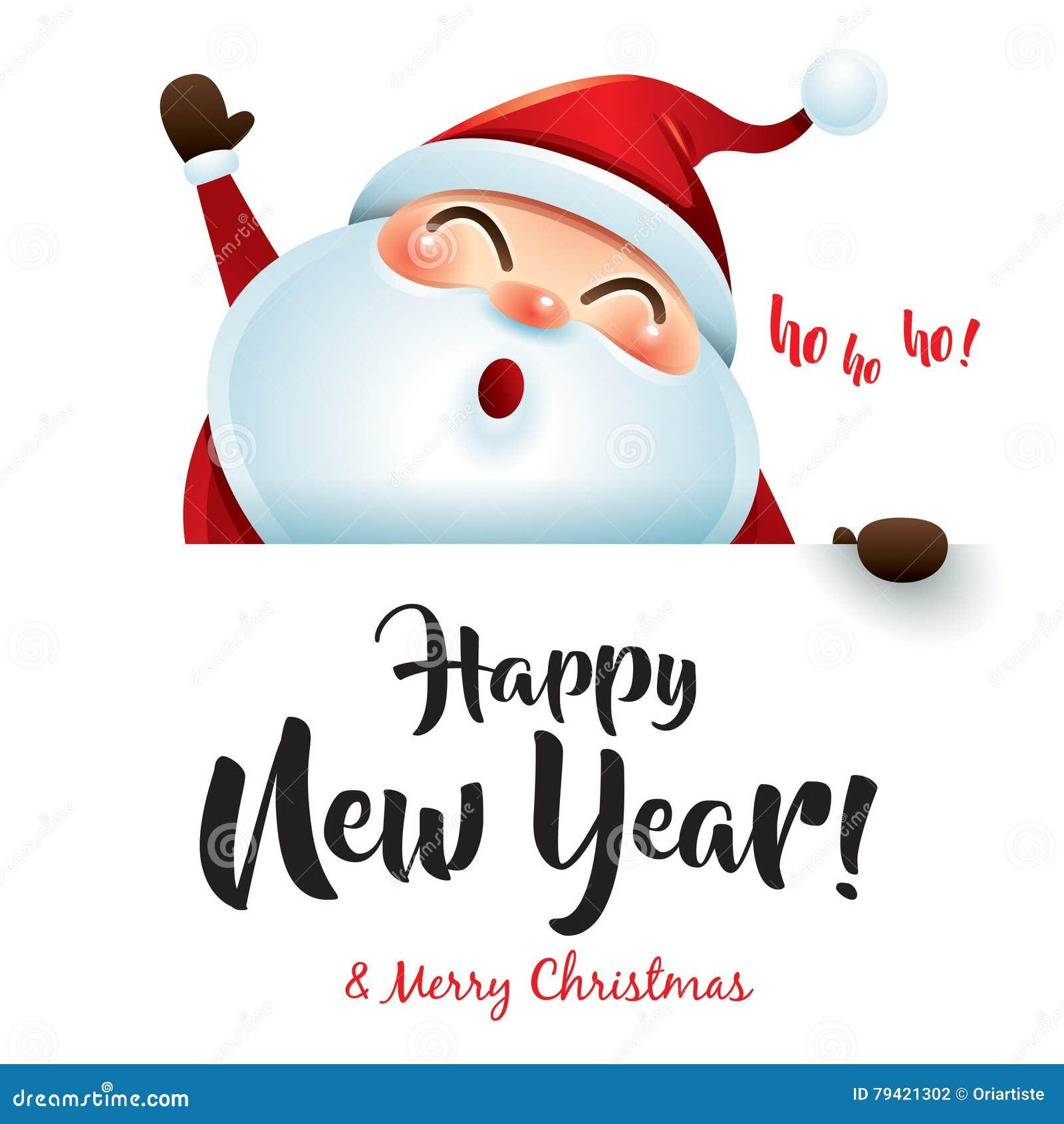 Ho Ho Ho Frohe Weihnachten.Ho Ho Ho Guten Rutsch Ins Neue Jahr Und Frohe Weihnachten