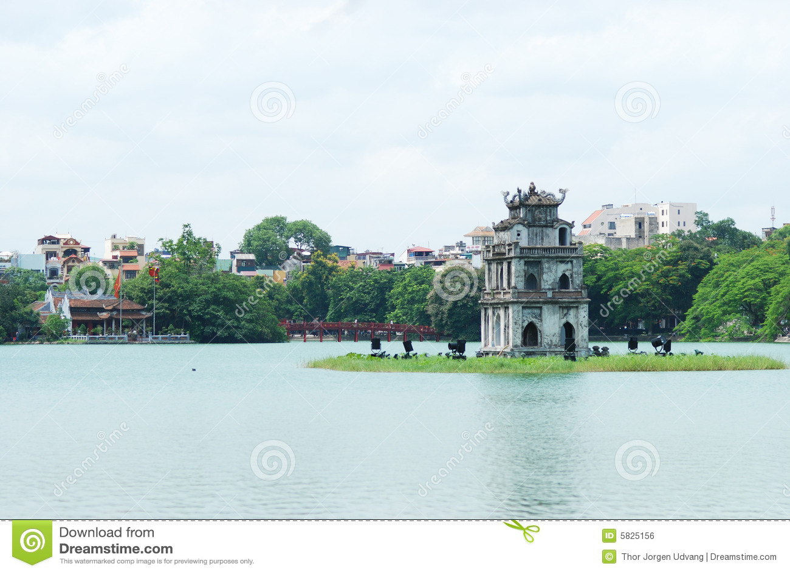 Ho Hoan Kiem, Hanoi, Vietnam.