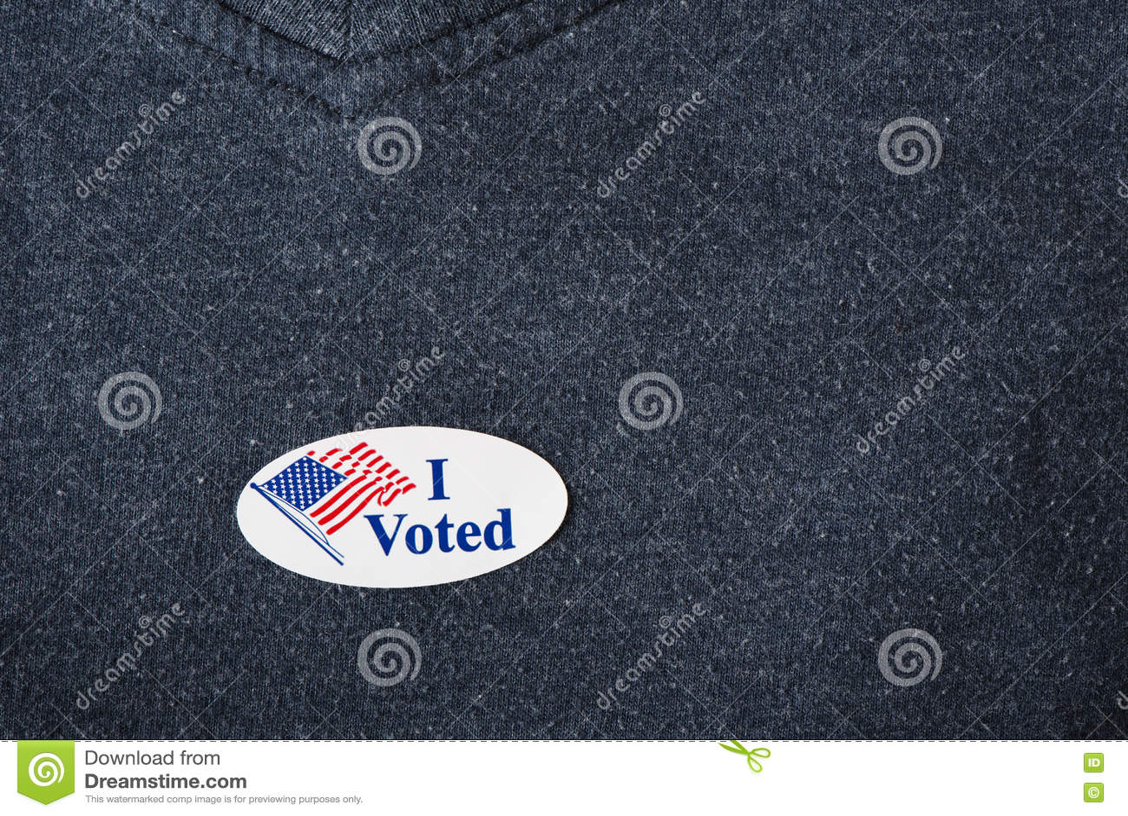 Ho votato l autoadesivo