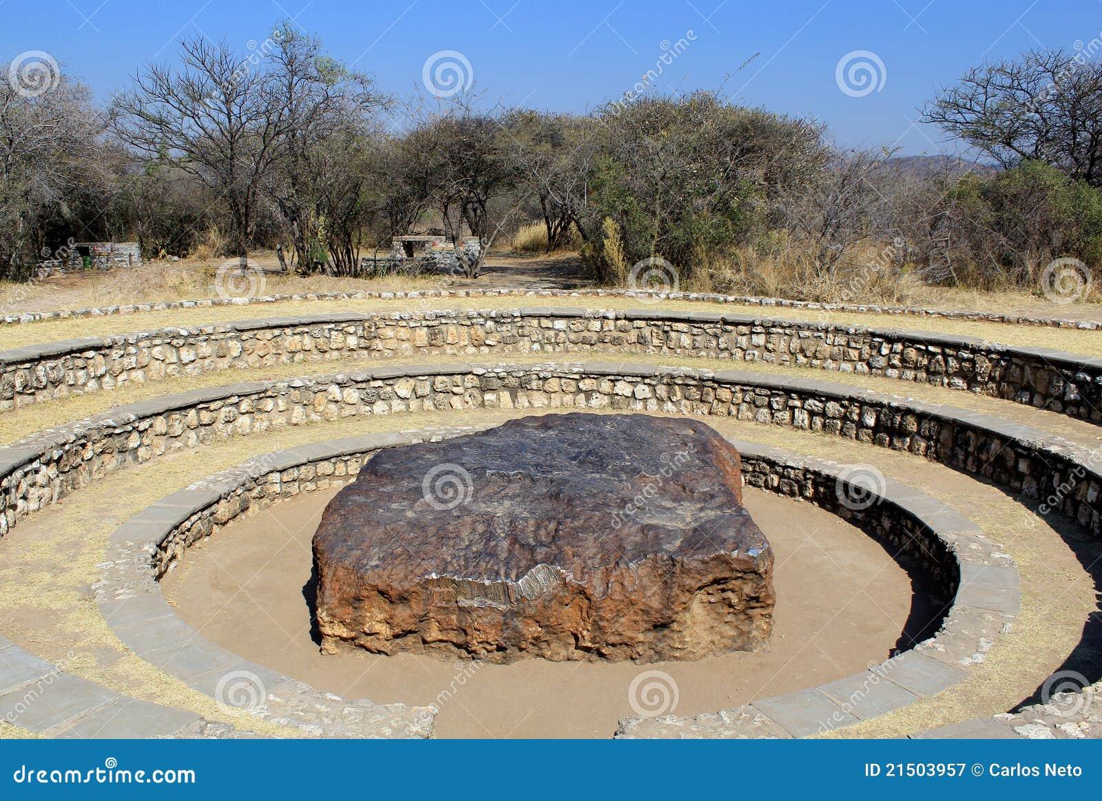 Hoba Meteorit - der größte Meteorit fand überhaupt