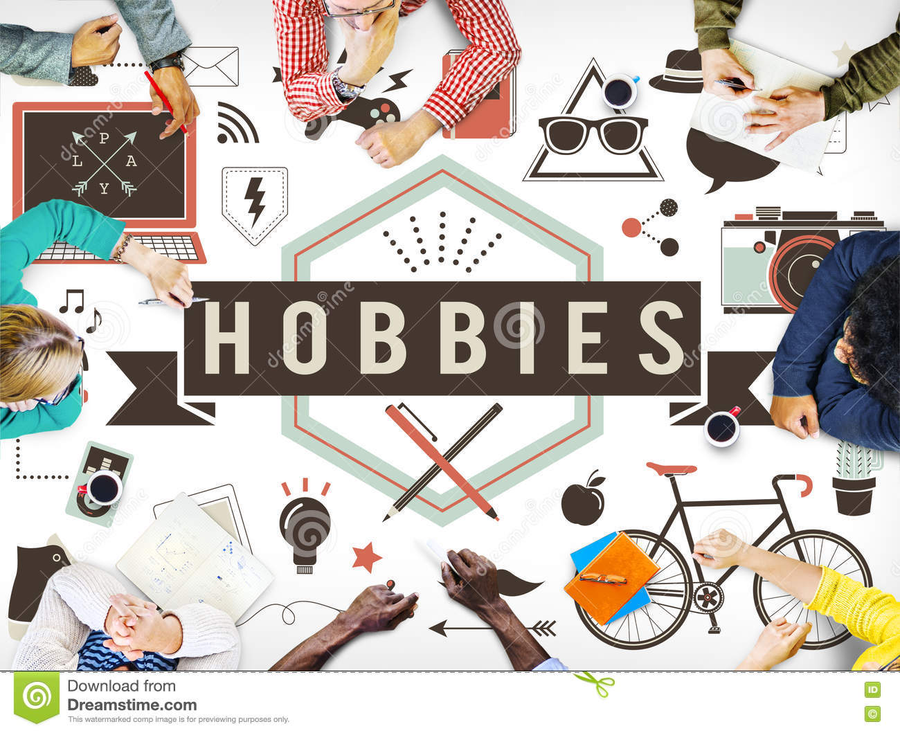 list special interest and hobbies