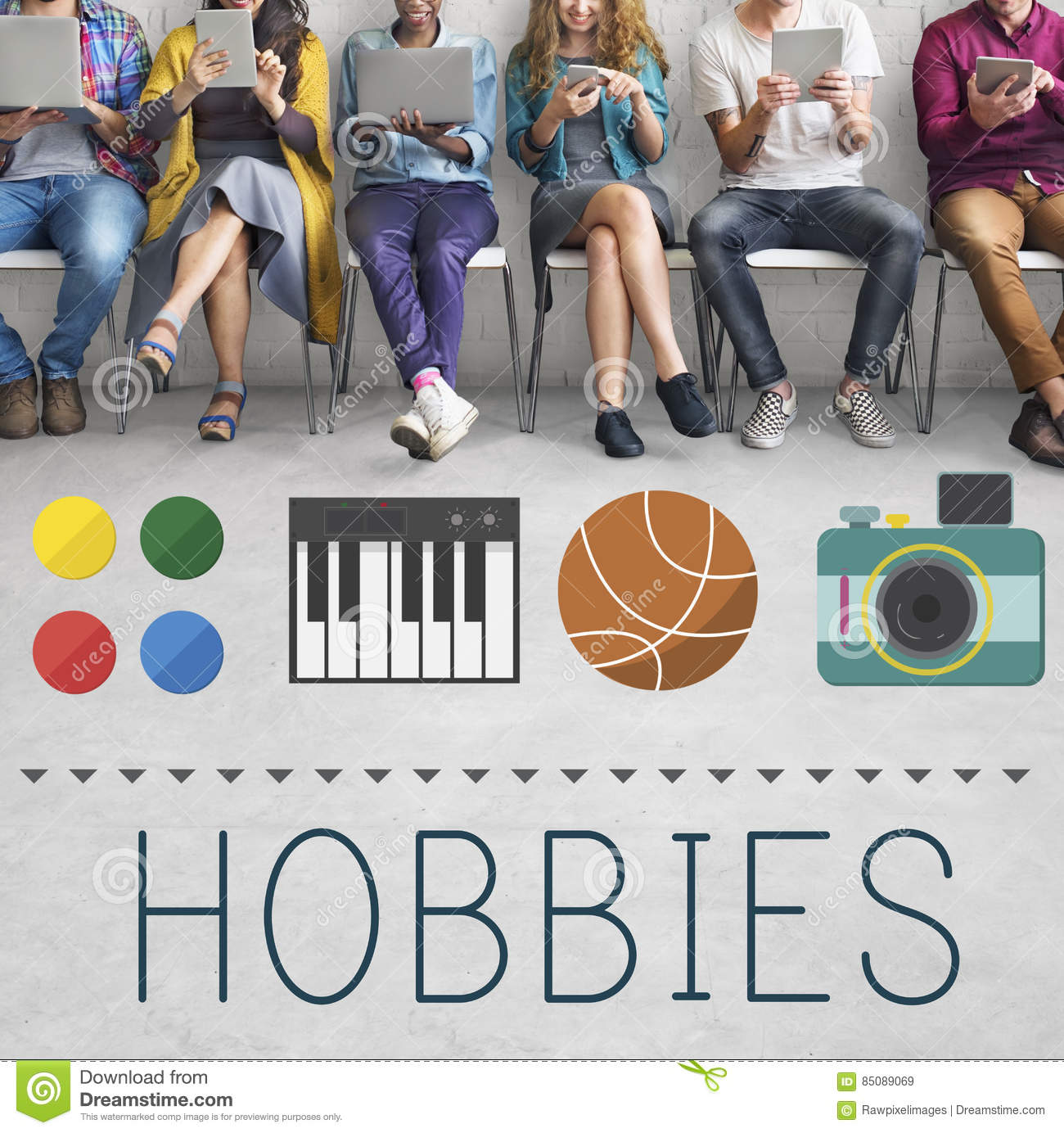 Hobbies Leisure Lifestyle Pastime Fun Concept
