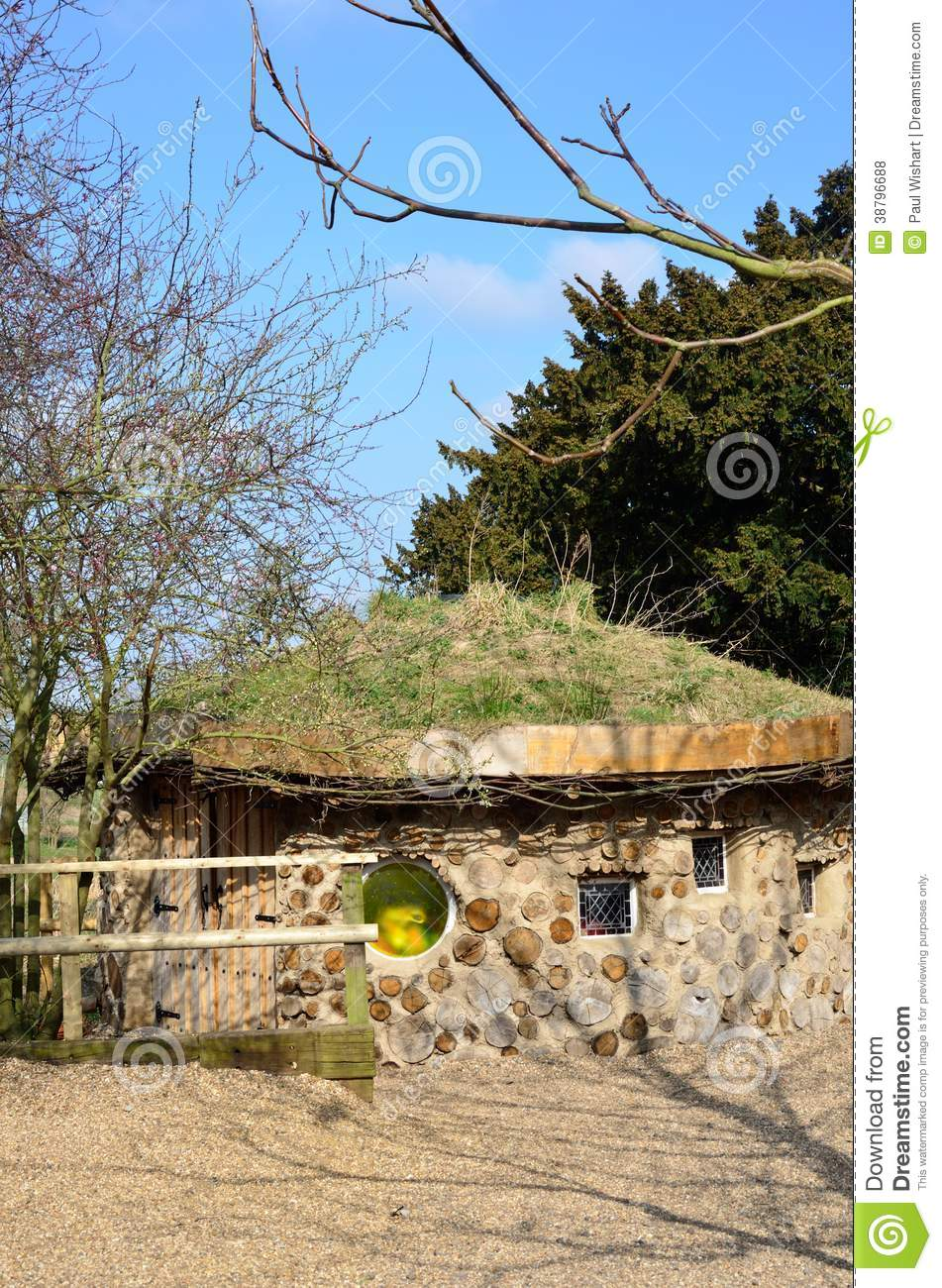 hobbit style house editorial stock photo image 38796688