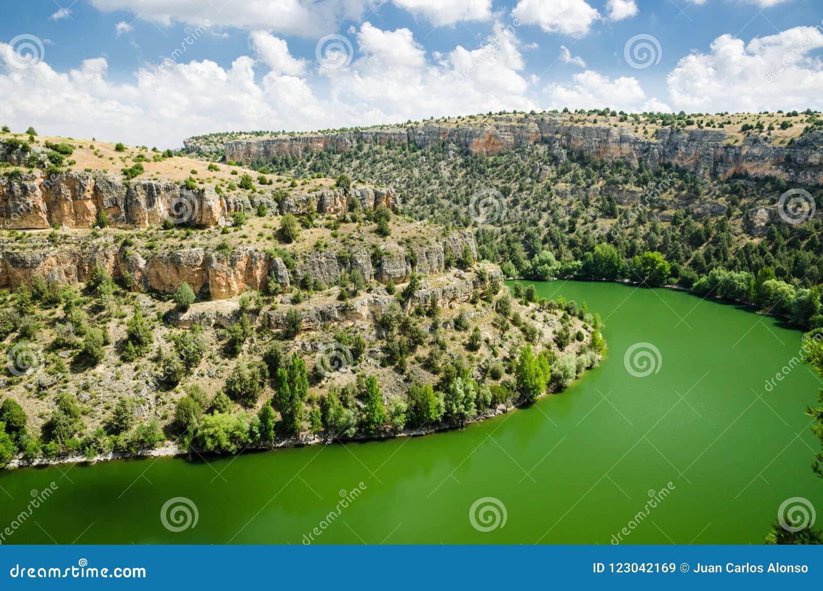 Hoces del Duraton a Segovia, Castiglia y Leon, Spagna