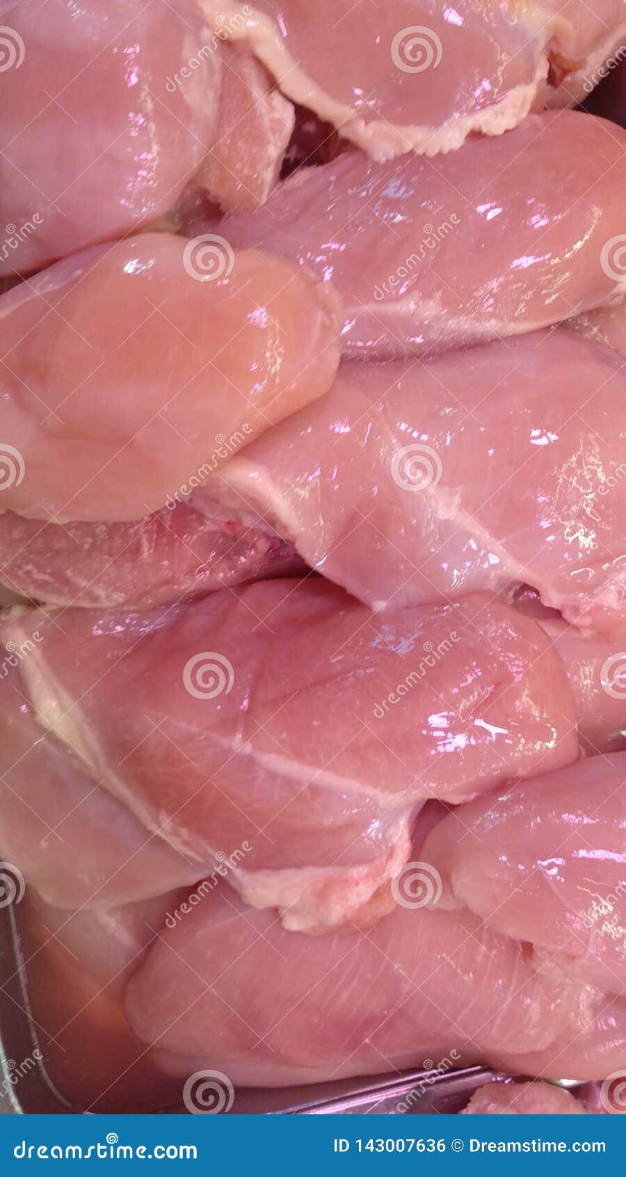 Hochauflösendes neues Hühnernahrungsmittelmaterial