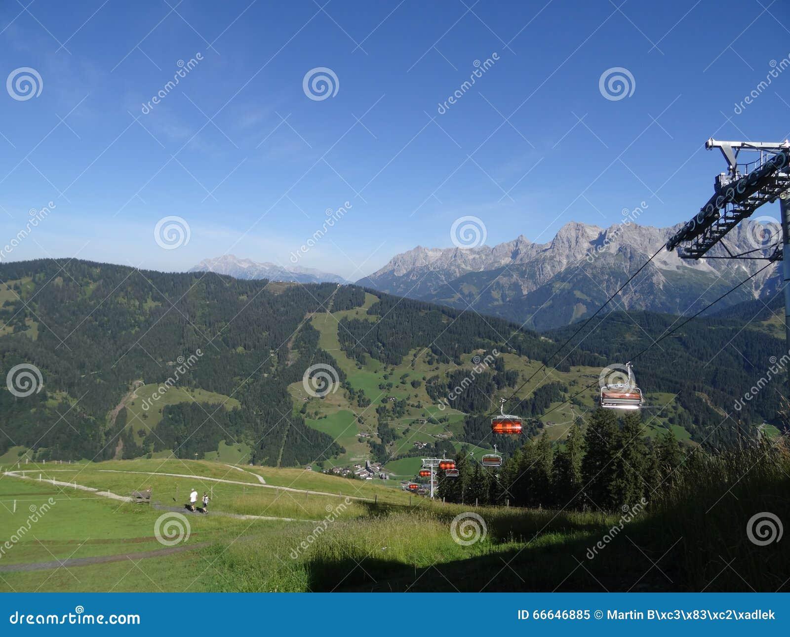 Hochkoenig, cume de Berchtesgadener, Áustria